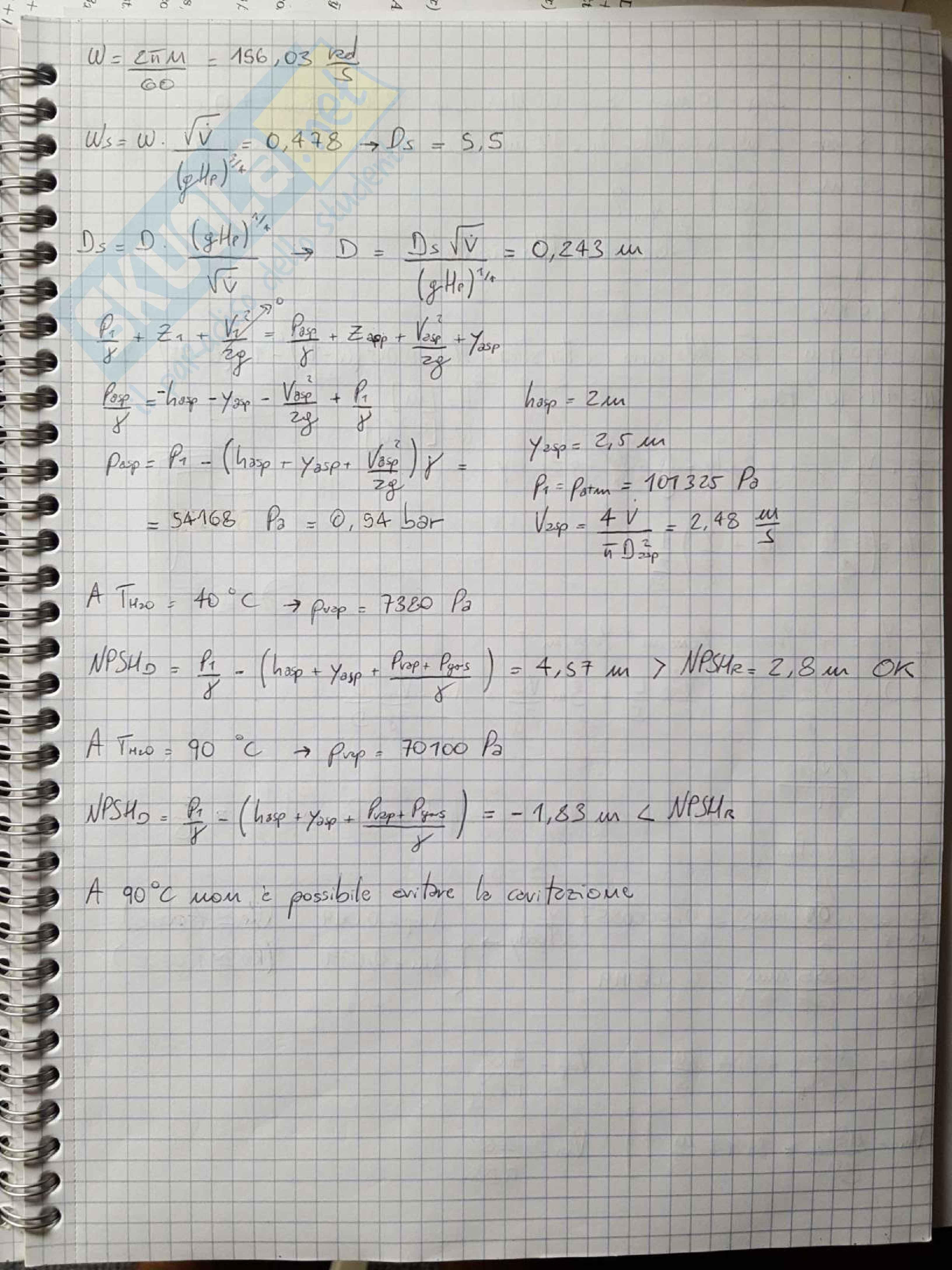 Esercizi e temi d'esame svolti di Macchine e Sistemi Energetici Pag. 11
