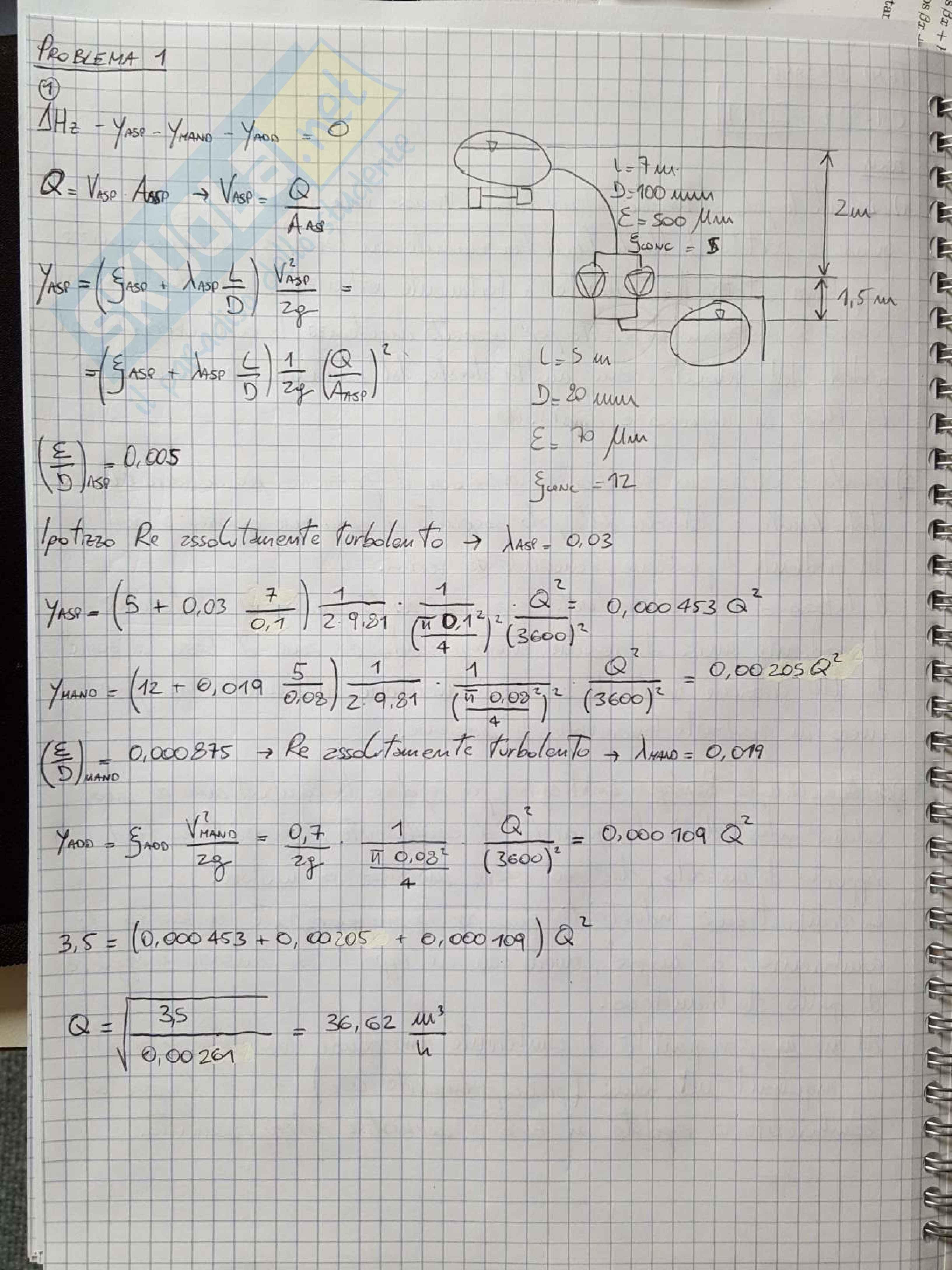 Esercizi e temi d'esame svolti di Macchine e Sistemi Energetici Pag. 51