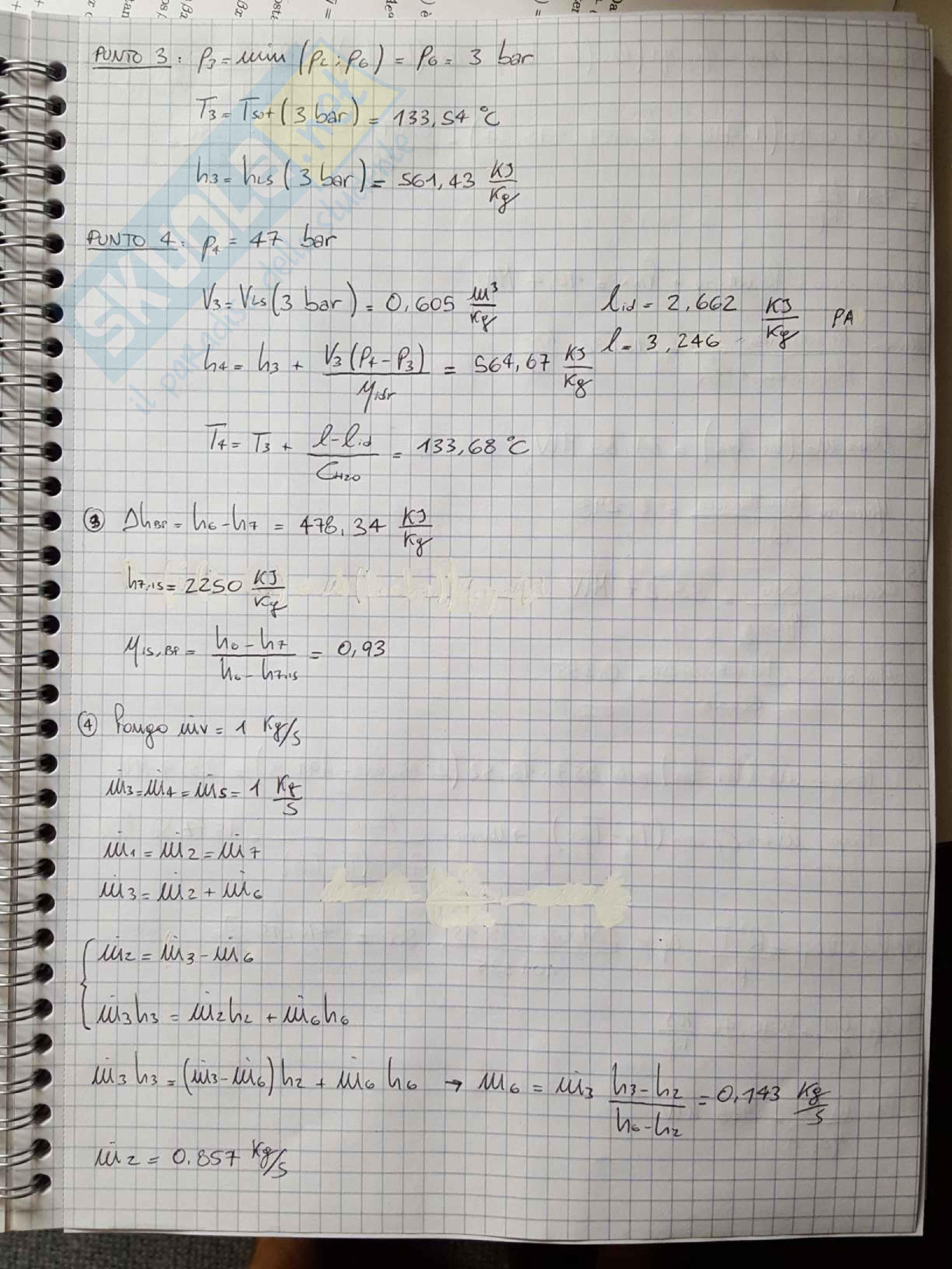 Esercizi e temi d'esame svolti di Macchine e Sistemi Energetici Pag. 66