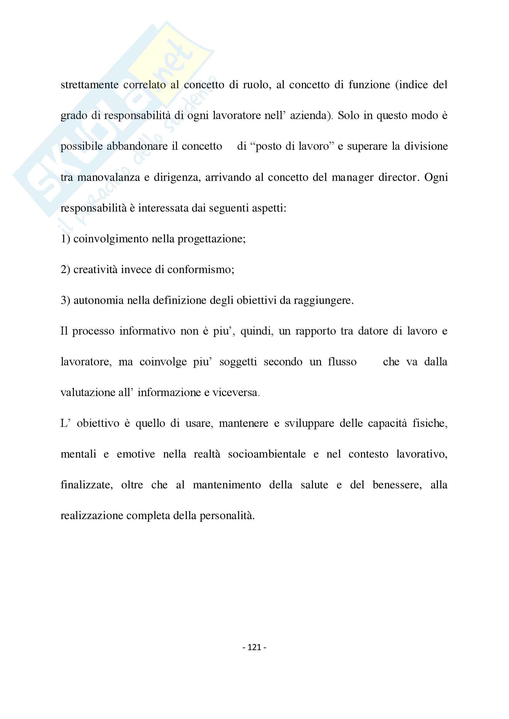 """""""Valutazione del rischio lavorativo e considerazioni medico sociali e preventive"""" Pag. 121"""