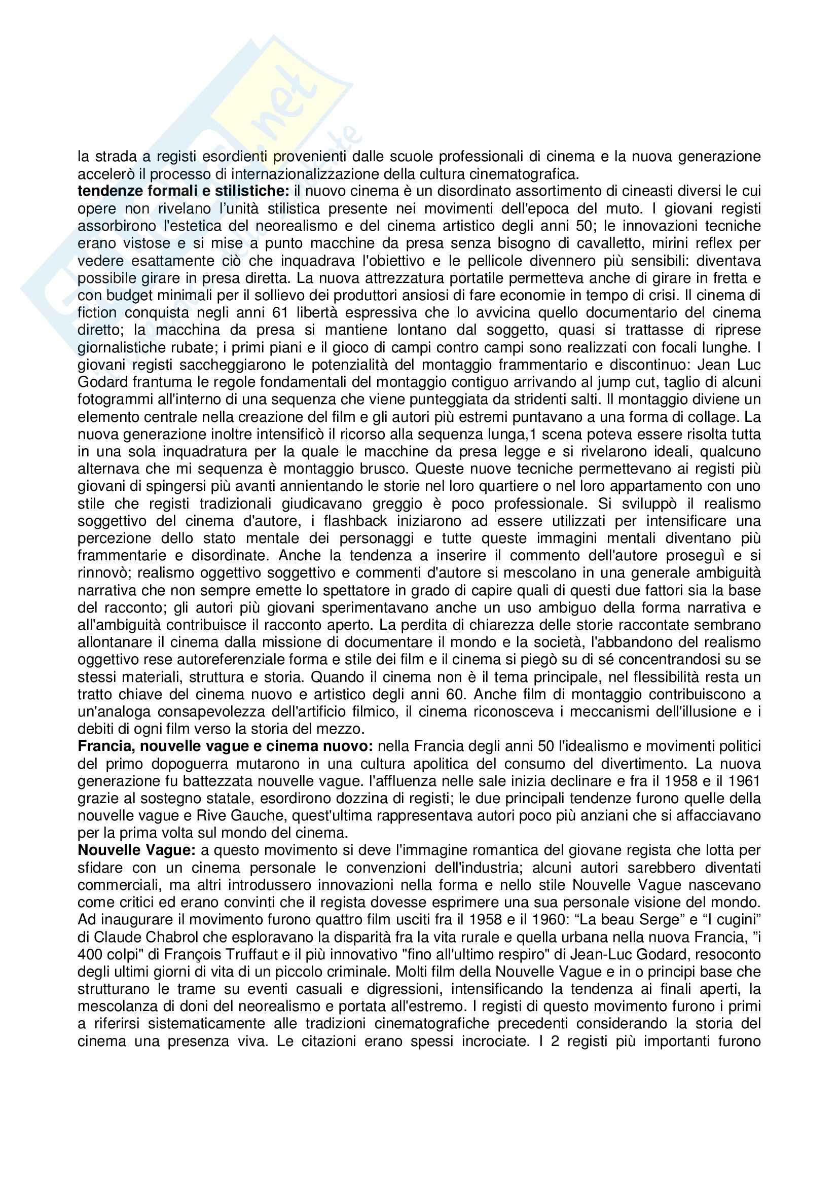 Riassunto esame Storia e critica del cinema, prof. Villa, libro consigliato Storia del cinema e dei film, Bordwell, Thompson Pag. 56