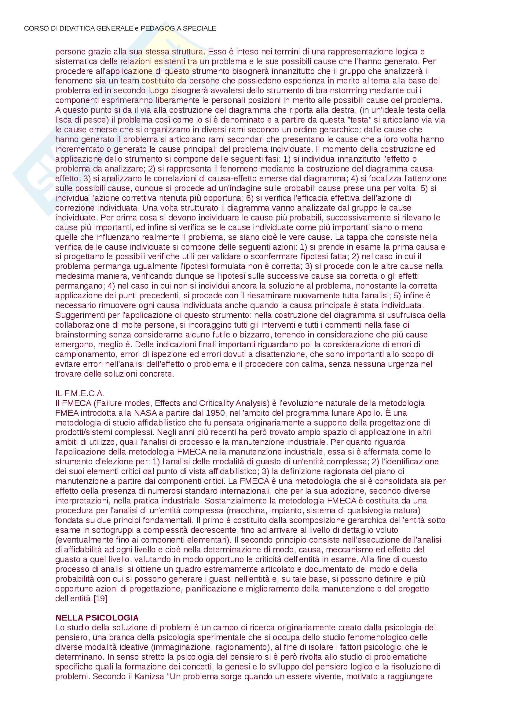 Lezioni, approfondimenti, Didattica e Pedagogia Speciale Pag. 36