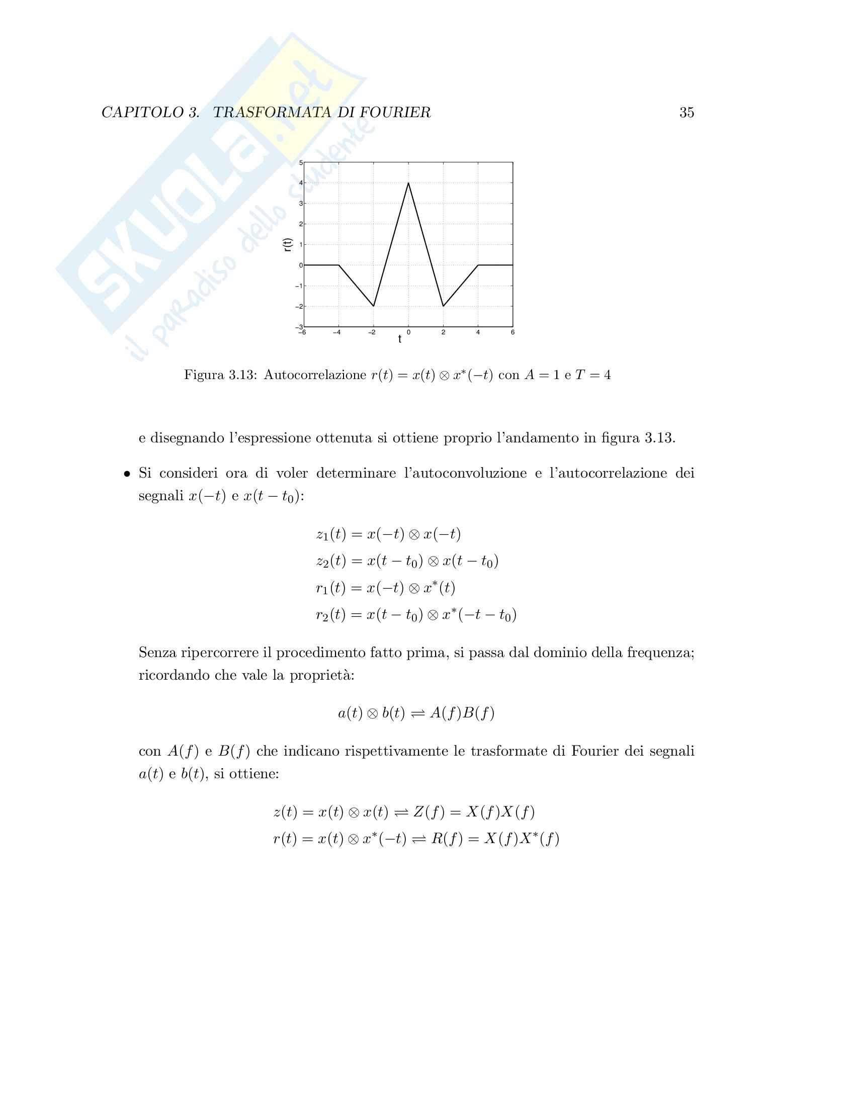 Teoria dei segnali - esercizi svolti Pag. 41