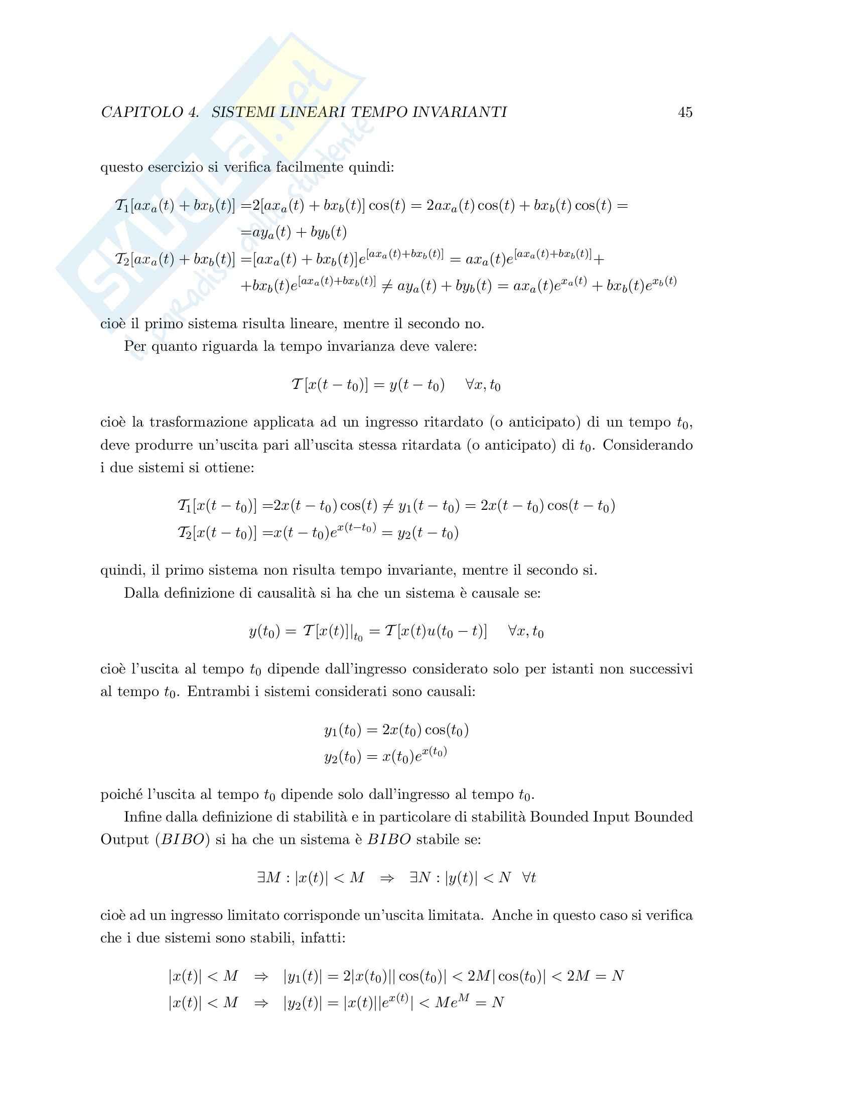Teoria dei segnali - esercizi svolti Pag. 51