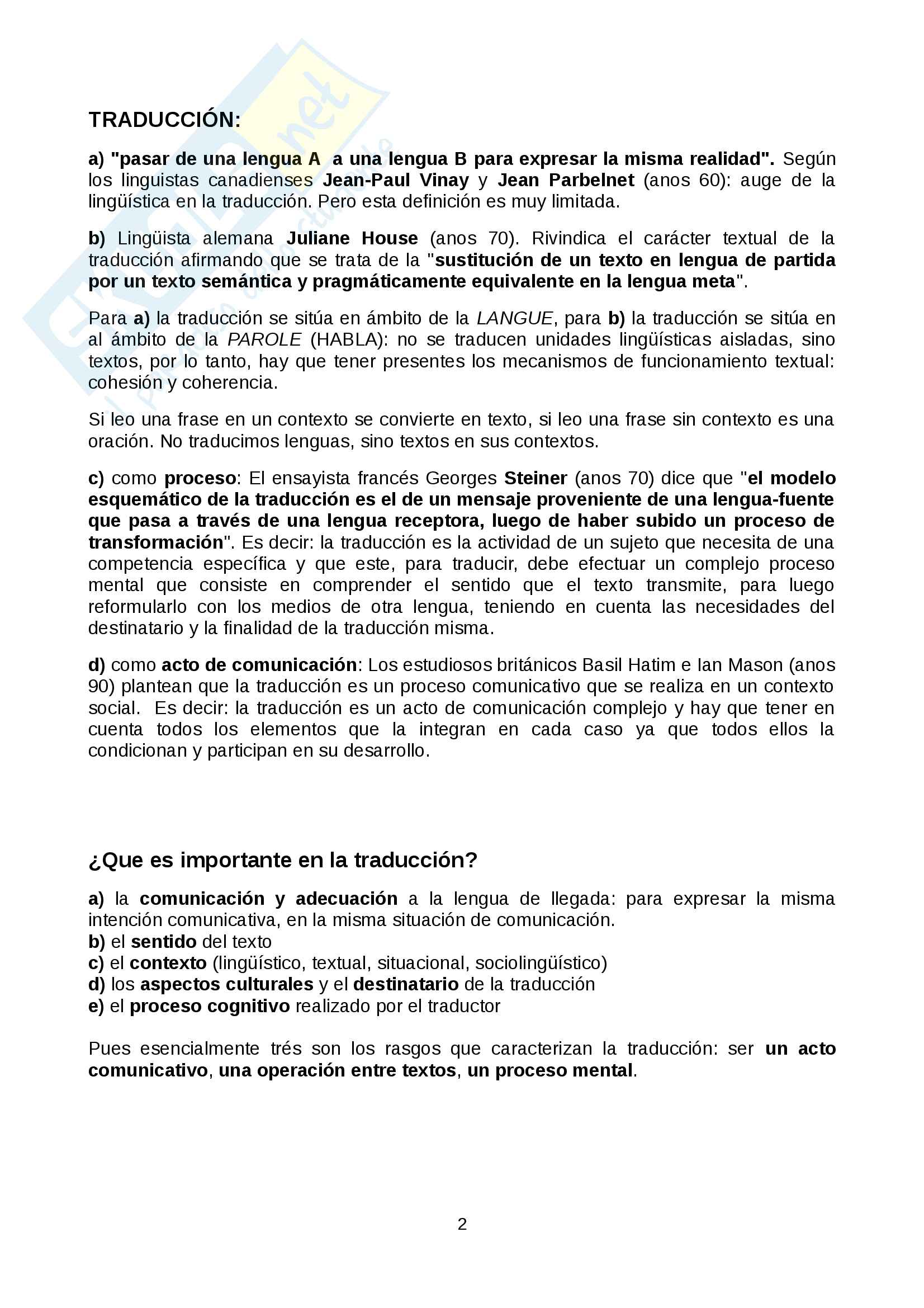 Lingua Spagnola magistrale traduzione Pag. 2