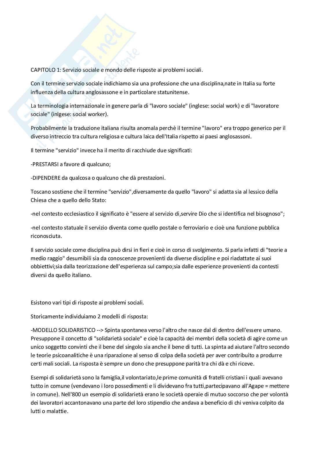 Riassunto esame PRINCIPI E FONDAMENTI DEL SERVIZIO SOCIALE, prof. Manca, libro consigliato Servizio sociale, Neve