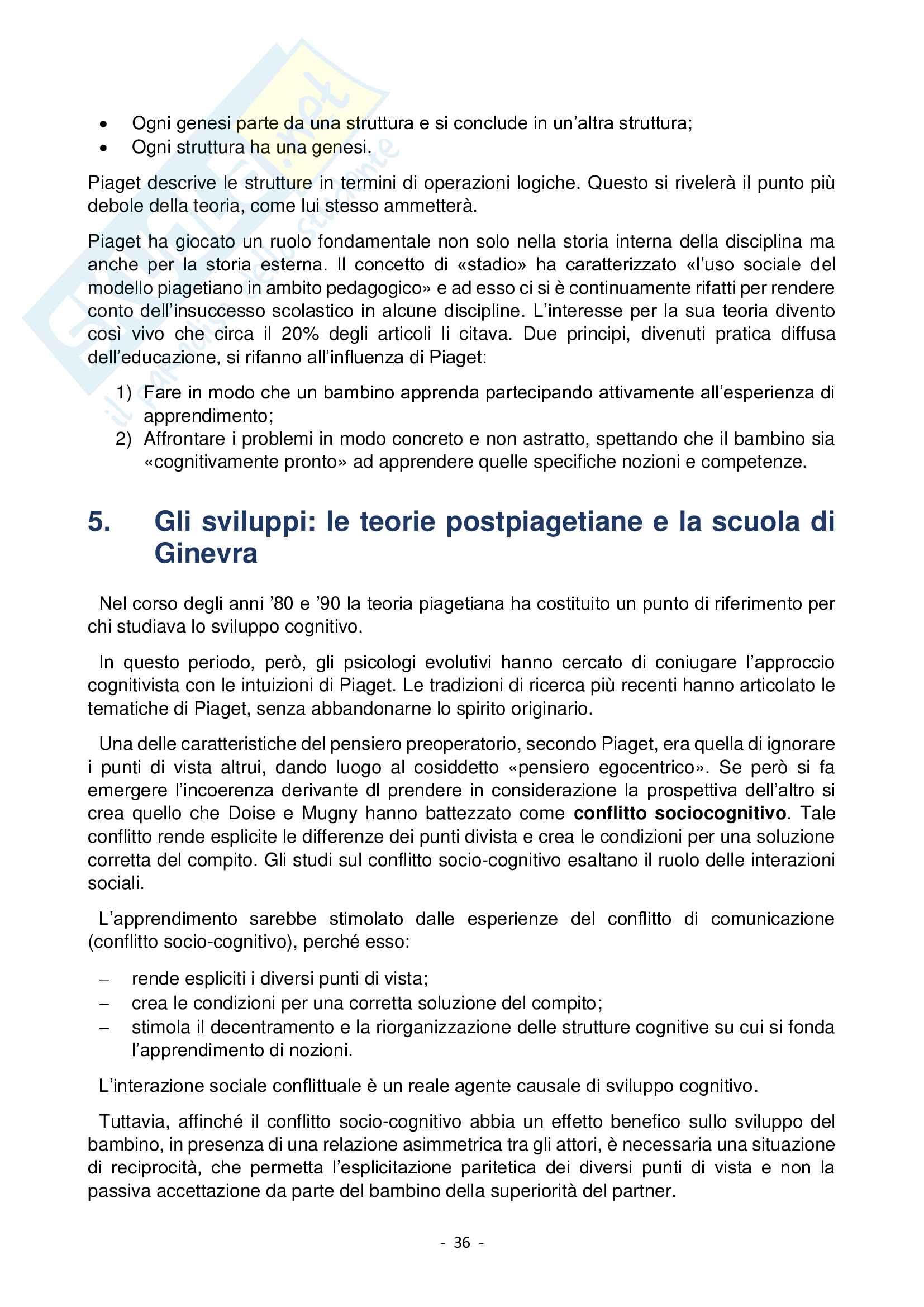 Storia della Psicologia e Argomenti di Storia della Psicologia Pag. 36