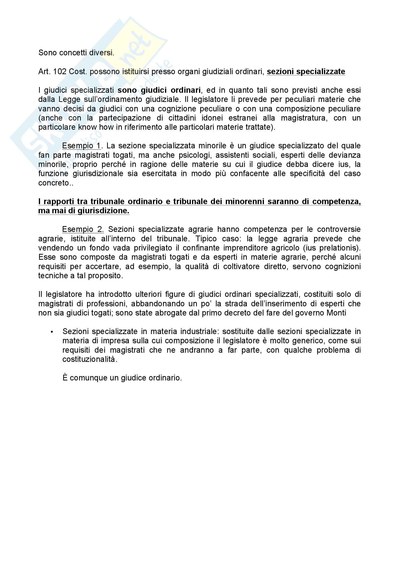 Riassunti e schemi perfetti. Lezioni di Procedura Civile Pag. 11