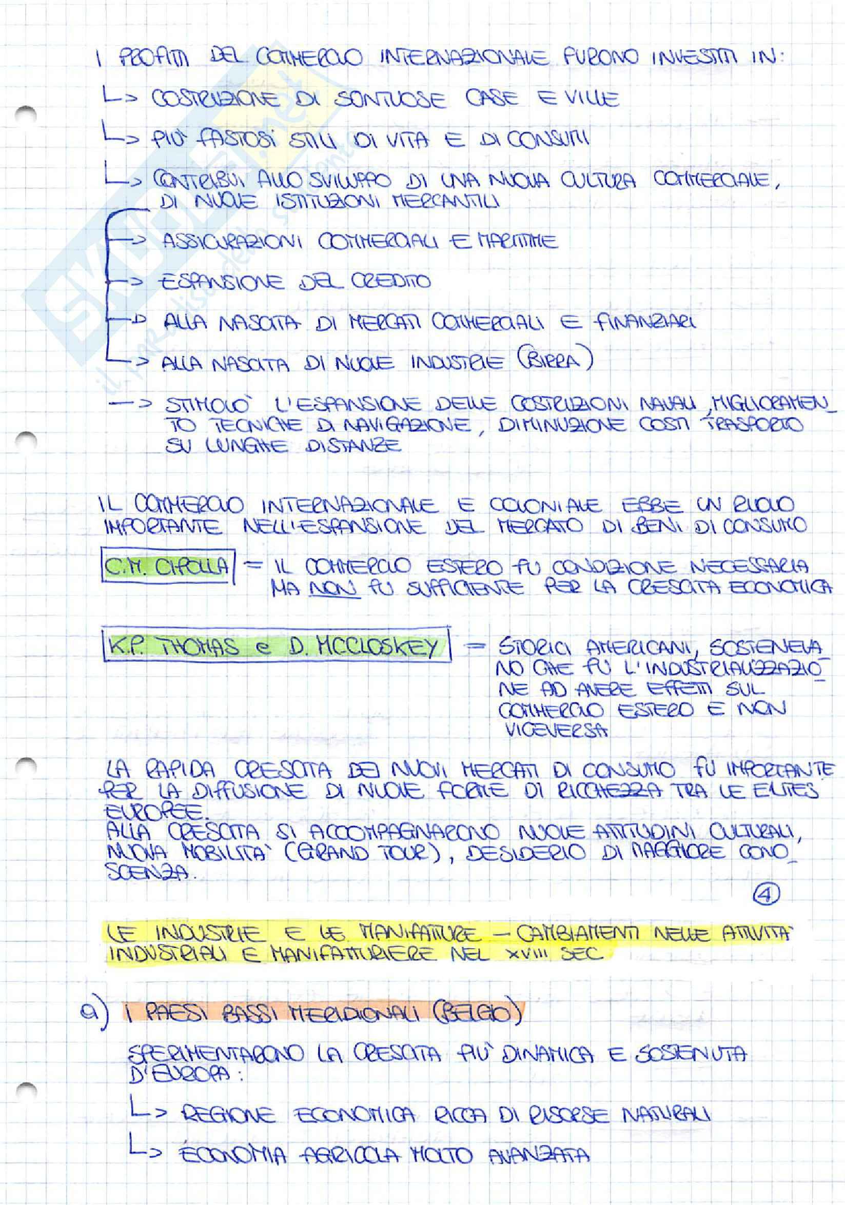 Appunti completi di Storia Economica Pag. 11