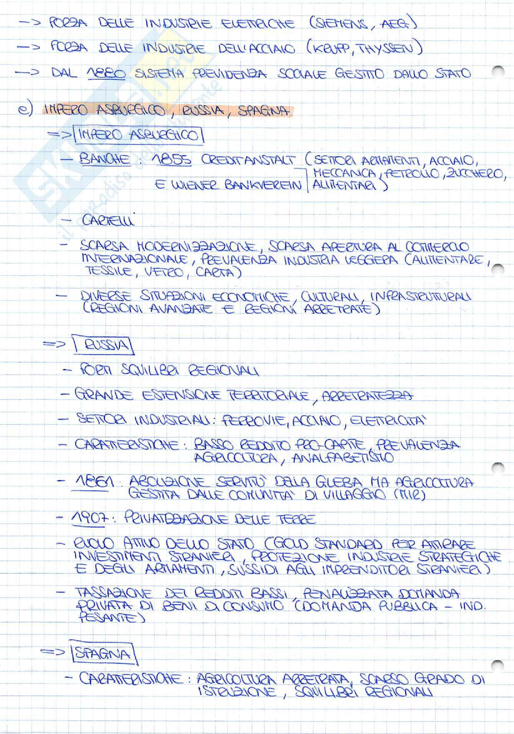 Appunti completi di Storia Economica Pag. 46