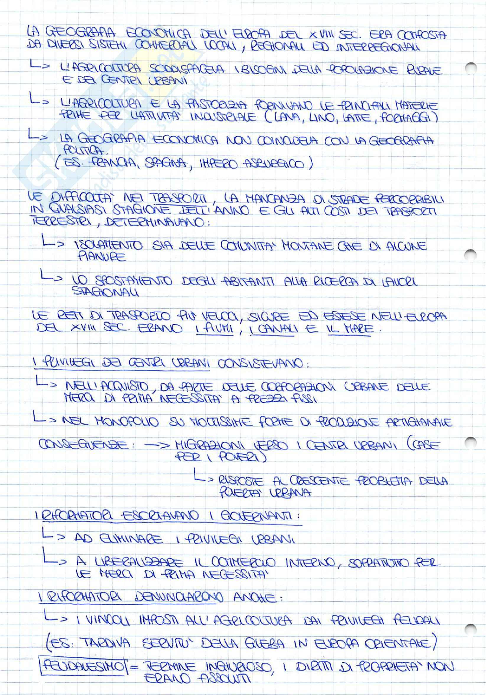 Appunti completi di Storia Economica Pag. 6
