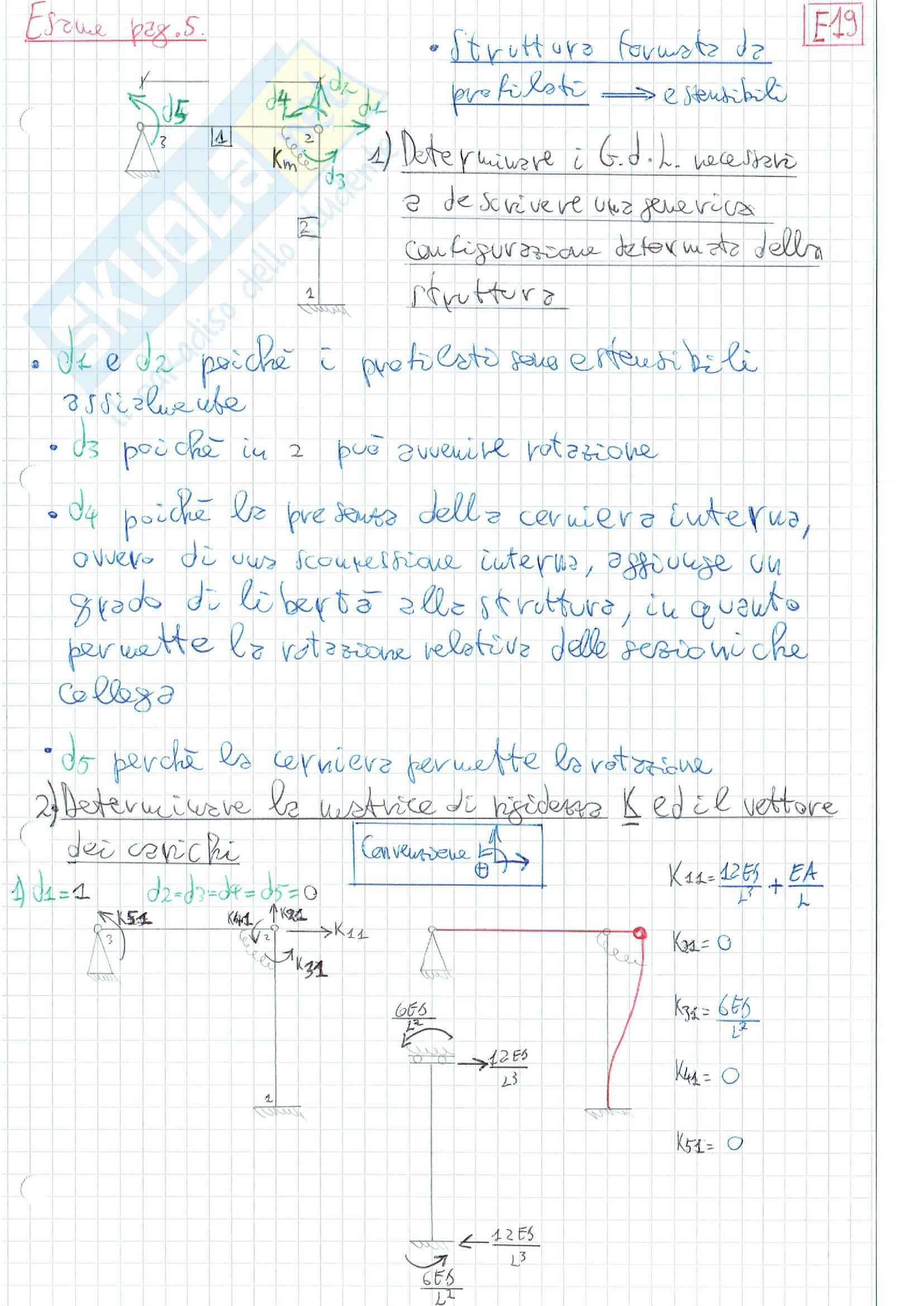 Esercizi Scienza delle Costruzioni 2 e Meccanica Computazionale: Parte 2
