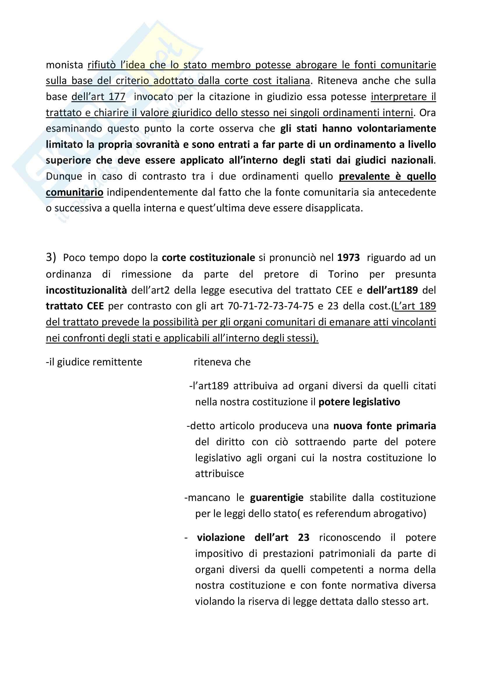 Diritto Internazionale – Casi materiali Pag. 41