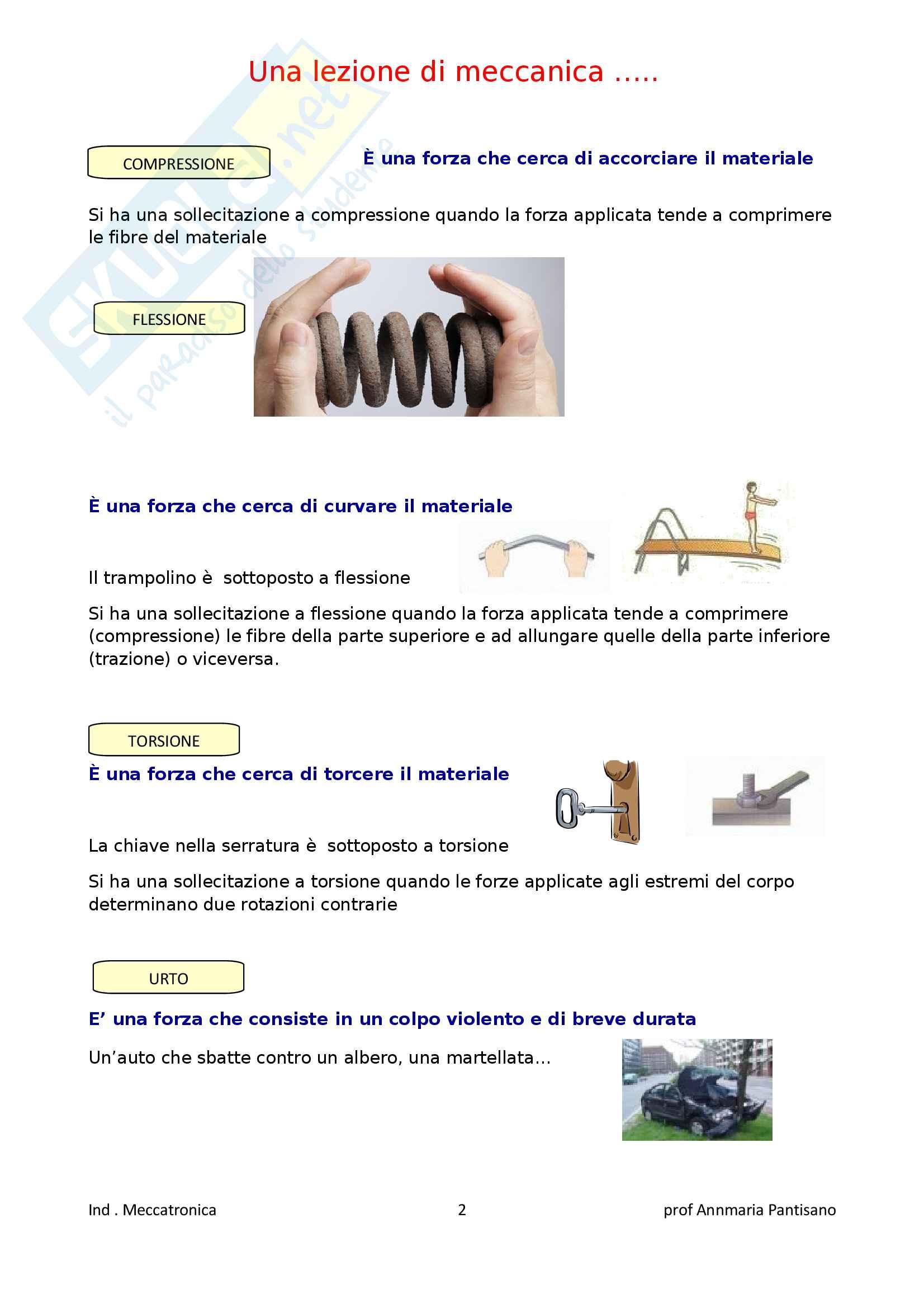 Una lezione di meccanica Pag. 2