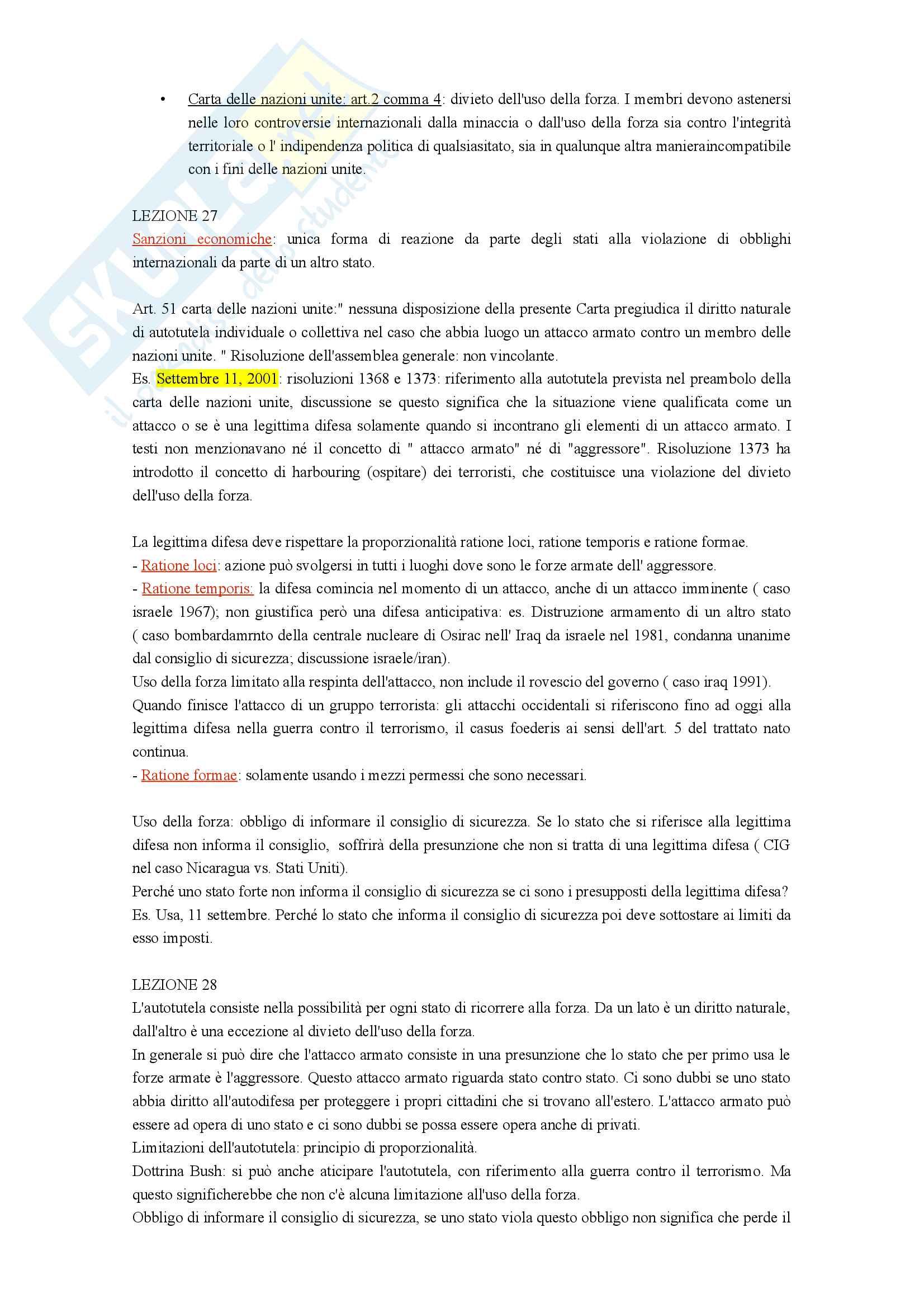 Appunti di diritto internazionale Pag. 31