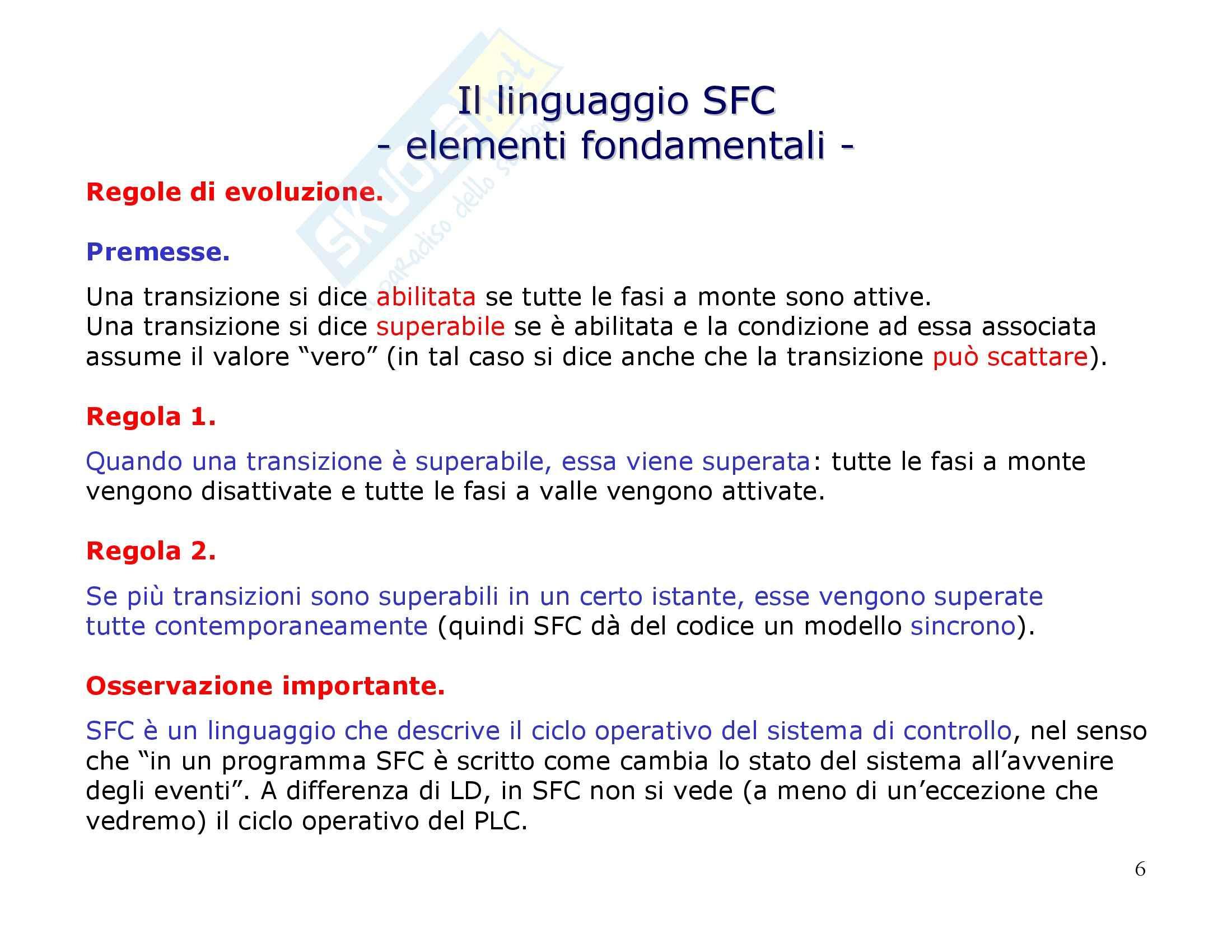 Linguaggio SFC Pag. 6