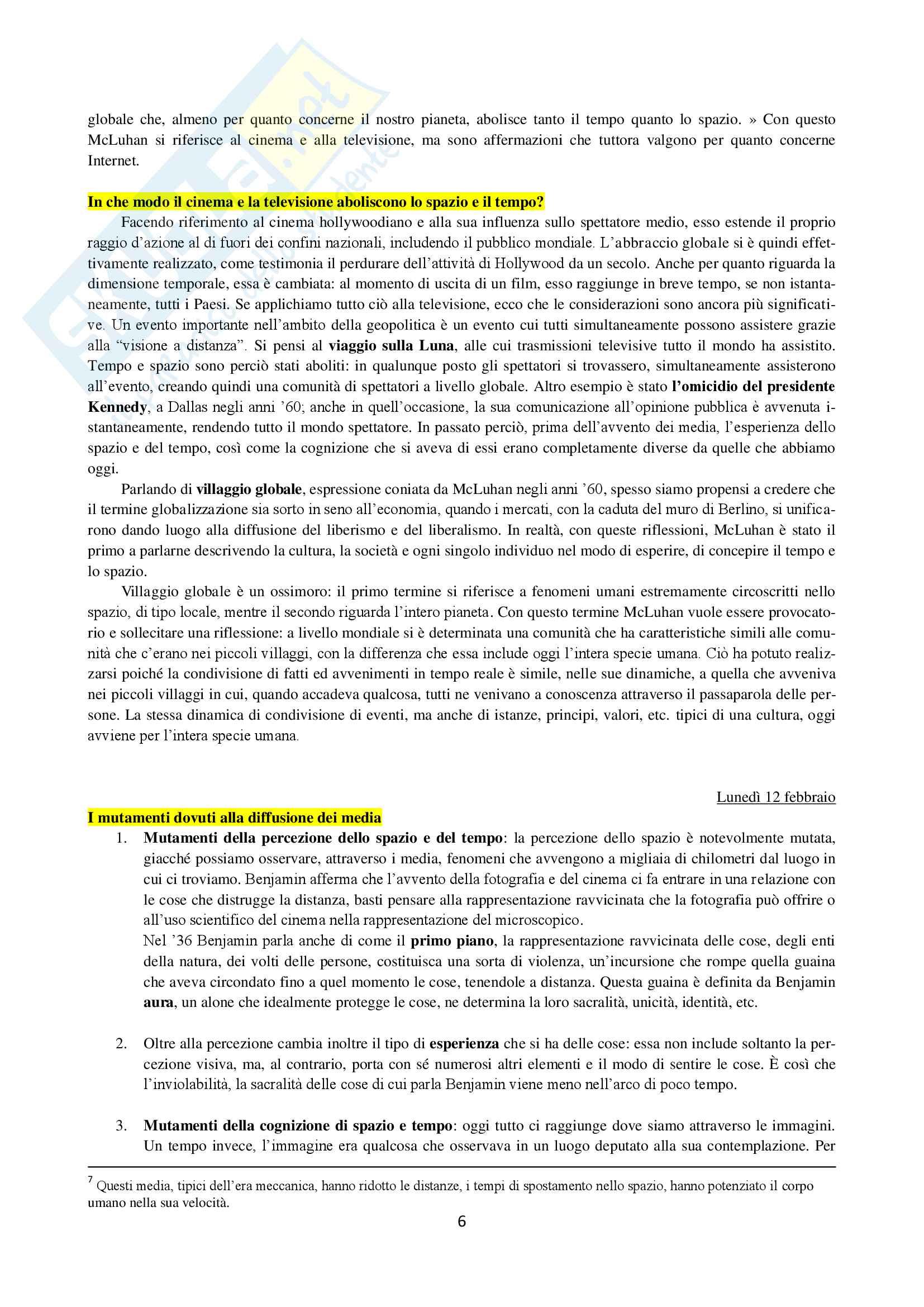 Storia ed estetica del cinema Pag. 6