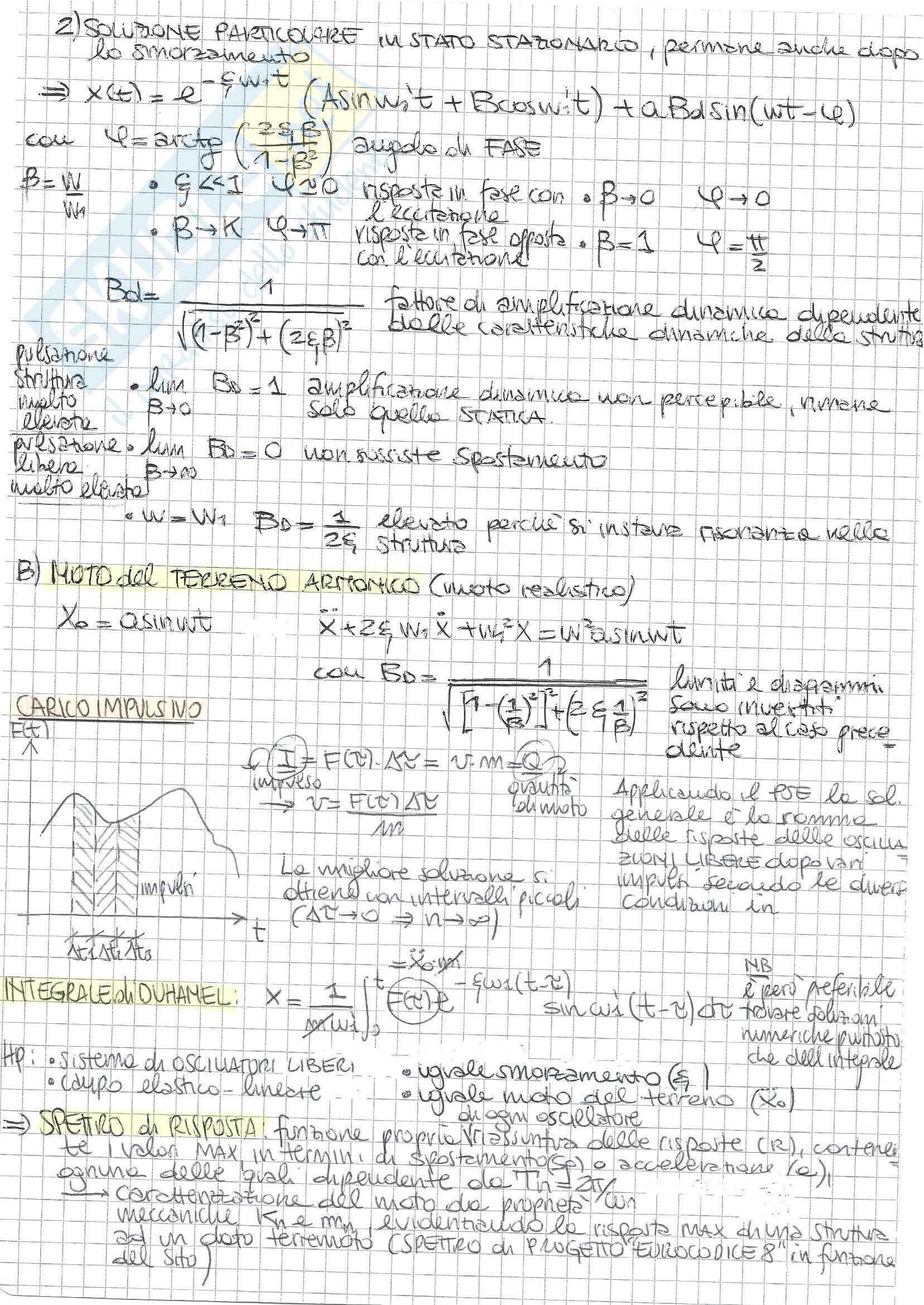 Costruzioni In Zona Sismica - Teoria Pag. 6