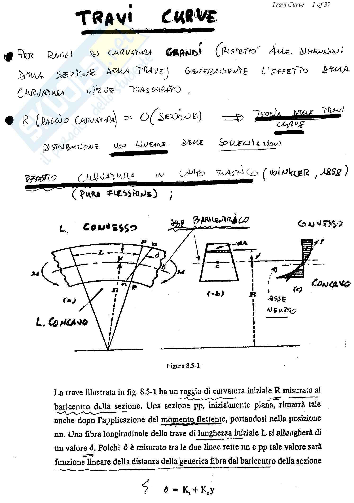 Teoria e progetto dei ponti - travi curve