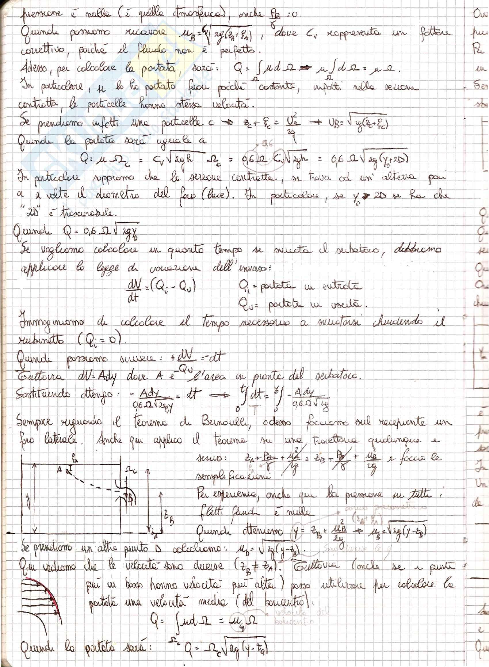 Meccanica dei Fluidi - Appunti Pag. 31