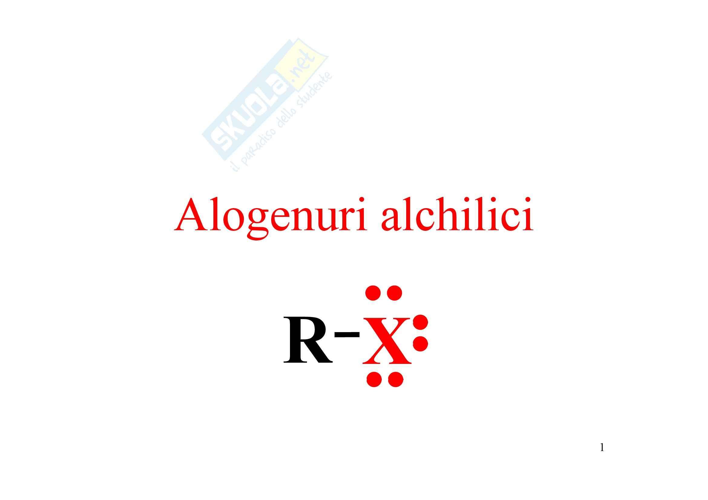 Chimica organica - sostituzione nucleofila