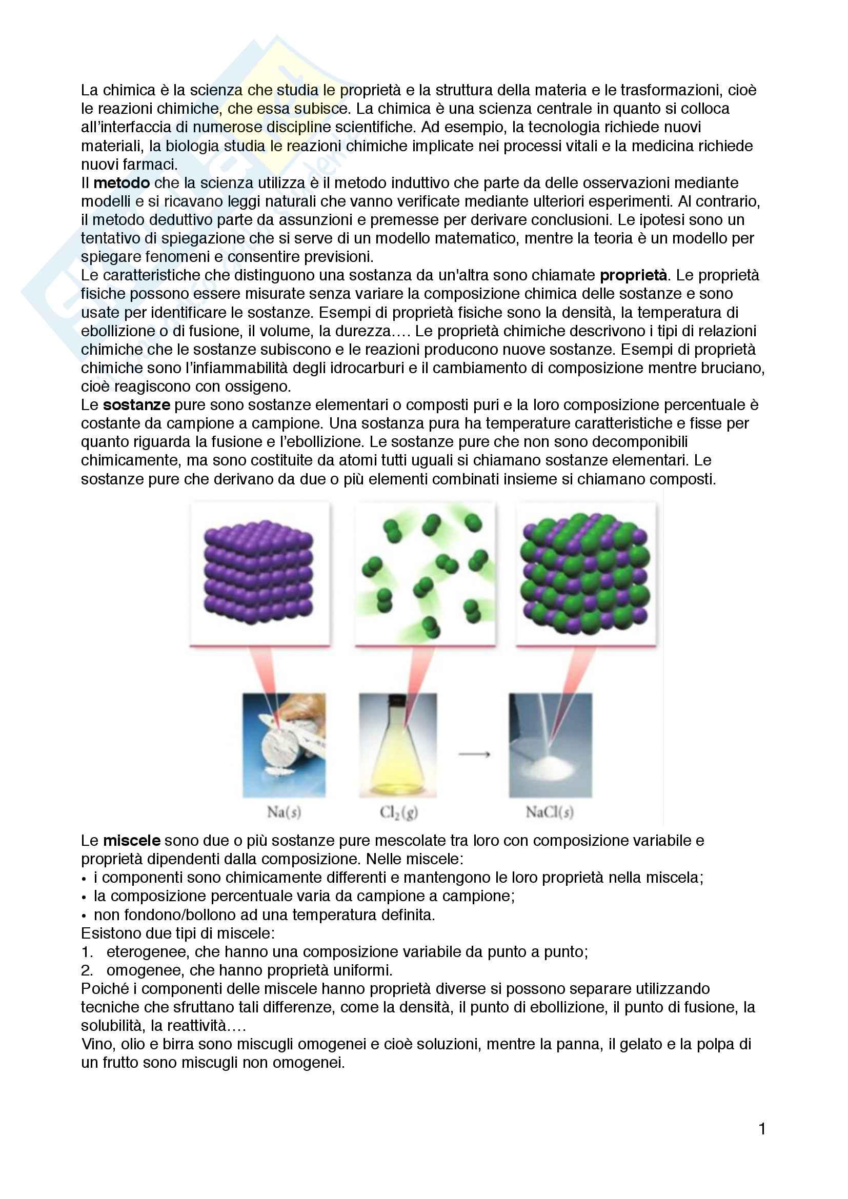 Appunti di chimica generale e inorganica, Marta Ferraroni