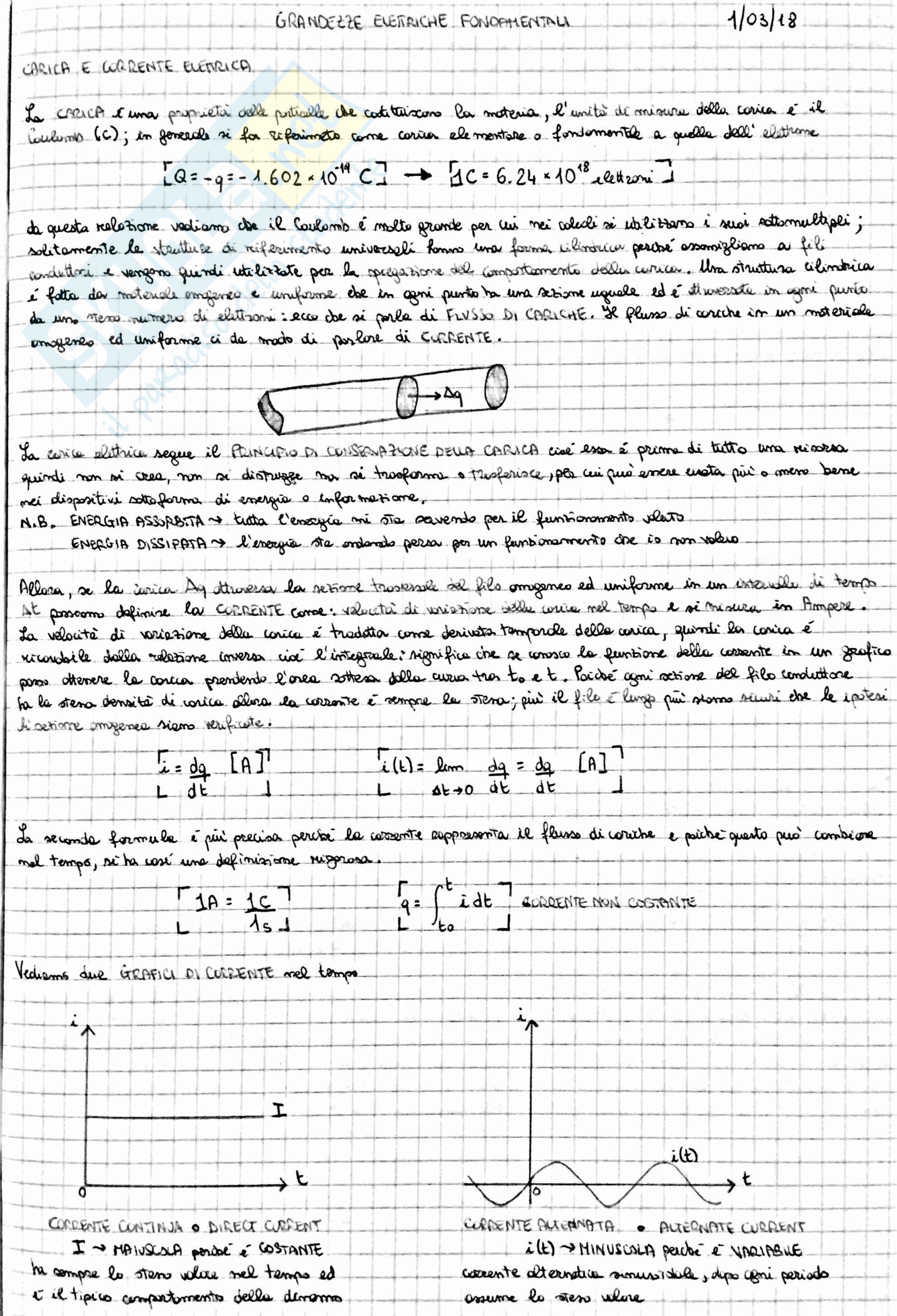 Principi di Ingegneria elettrica
