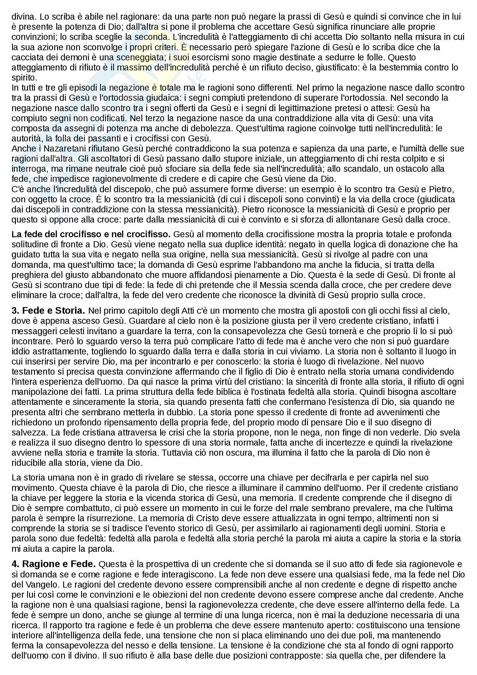 Riassunto esame Teologia III, prof. Varsalona, libro consigliato Le Virtù del Cristiano, Maggioni Pag. 2