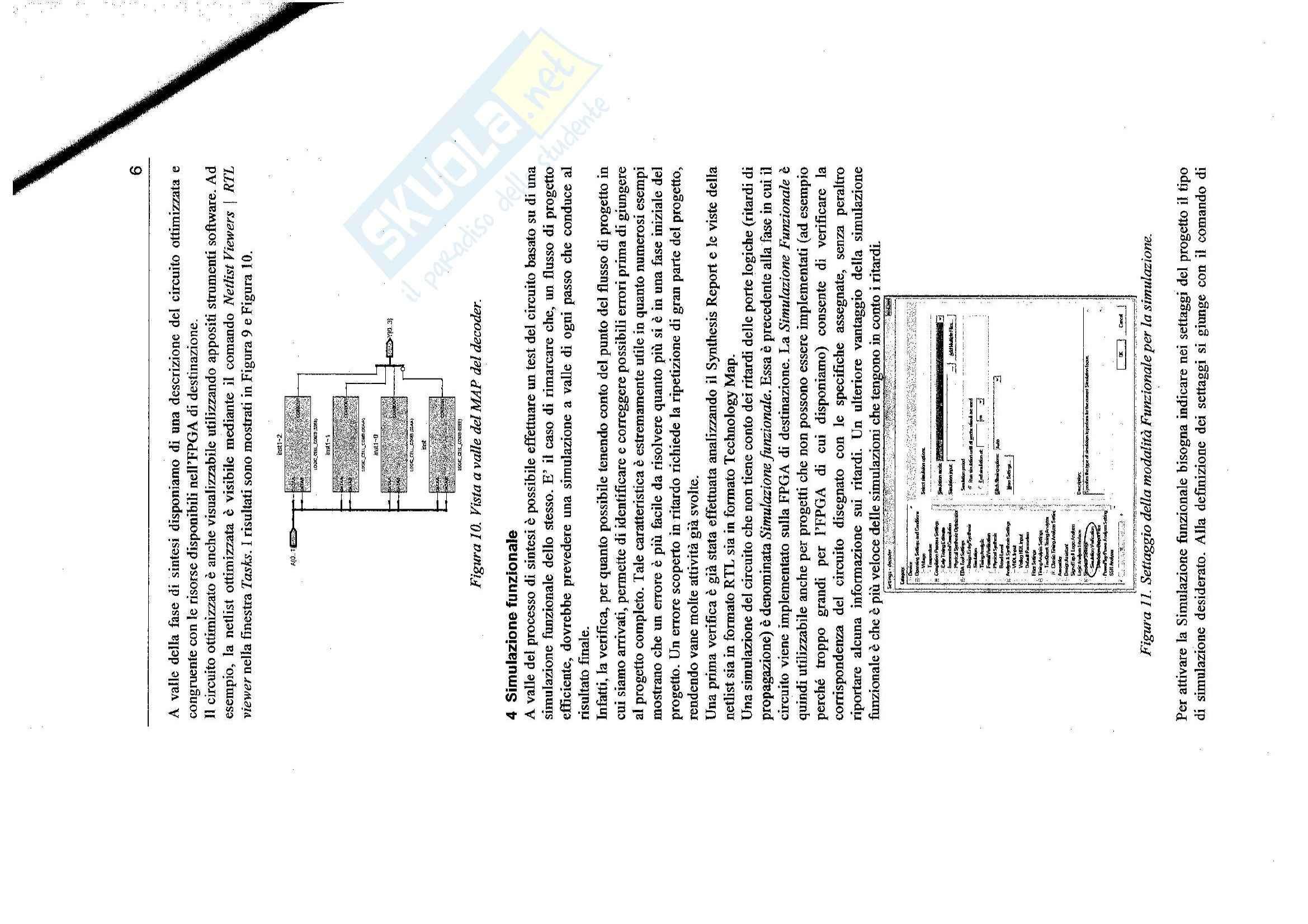 Sistemi elettronici programmabili - L'ambiente di sviluppo altera quartusII 9.1 SP1 per il progetto di SEP Pag. 6