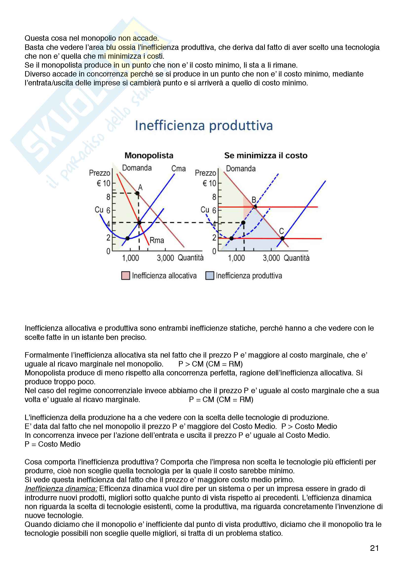 Riassunto esame Politica Economica - Di Bartolomeo - Franzini Pag. 21