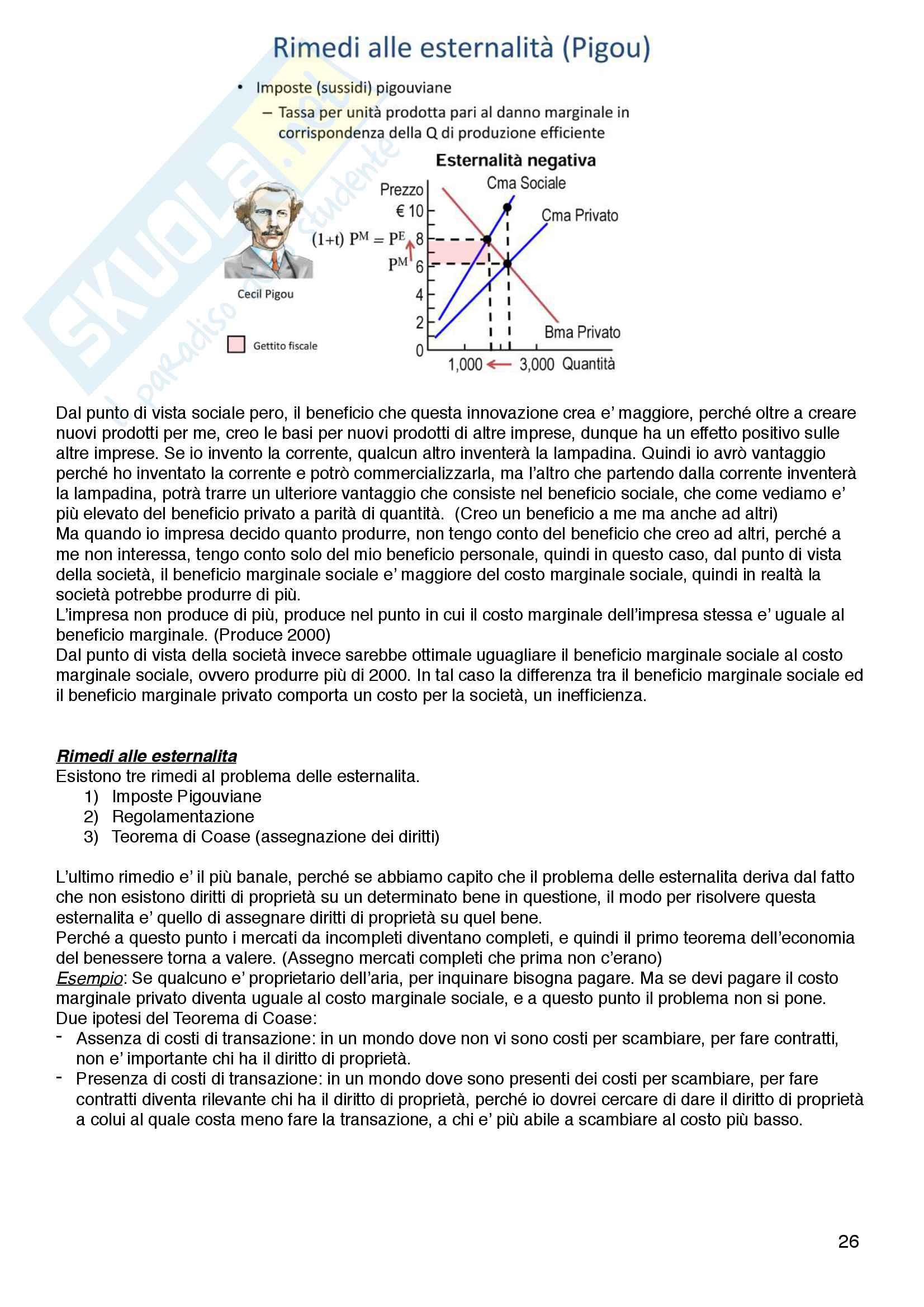 Riassunto esame Politica Economica - Di Bartolomeo - Franzini Pag. 26