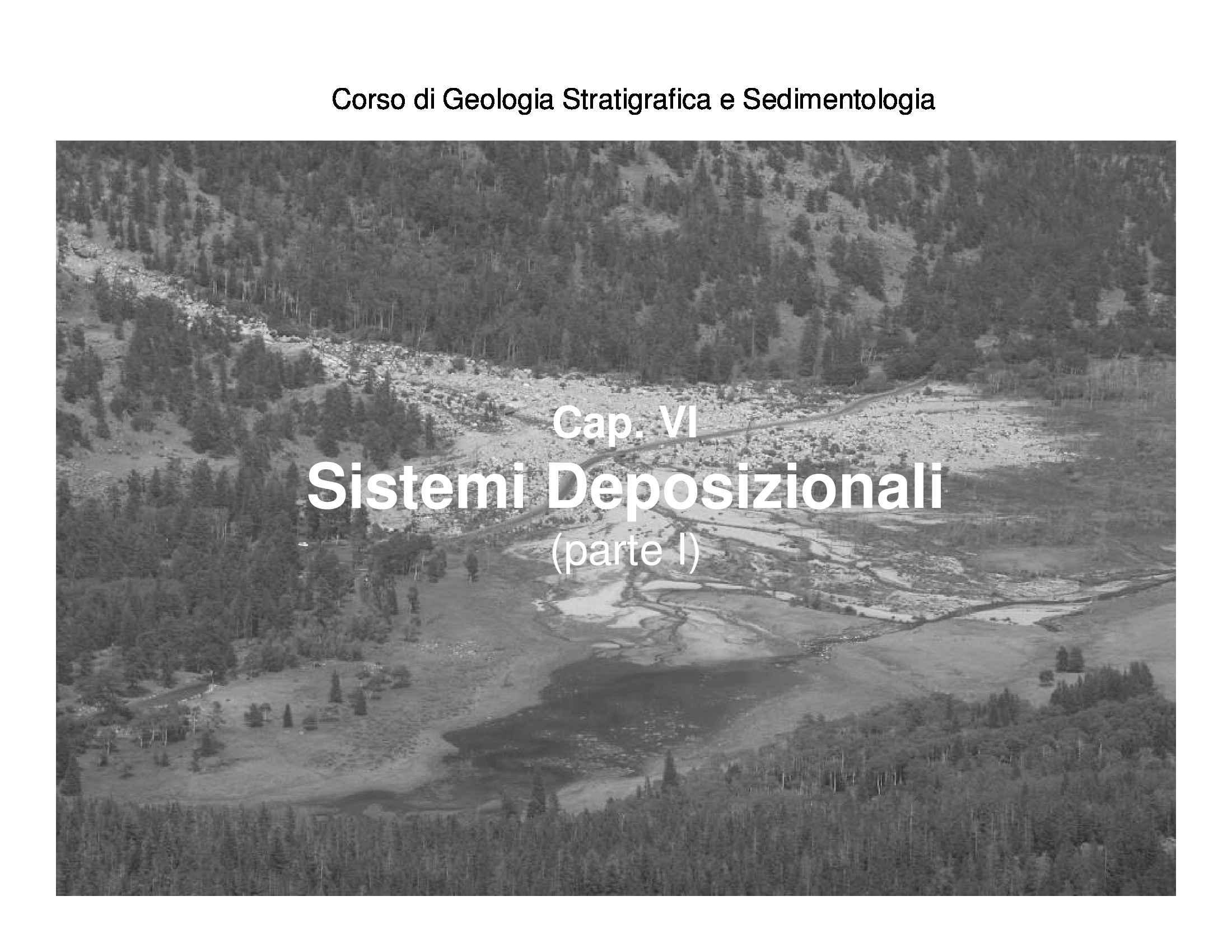 Sistemi deposizionali fluviali