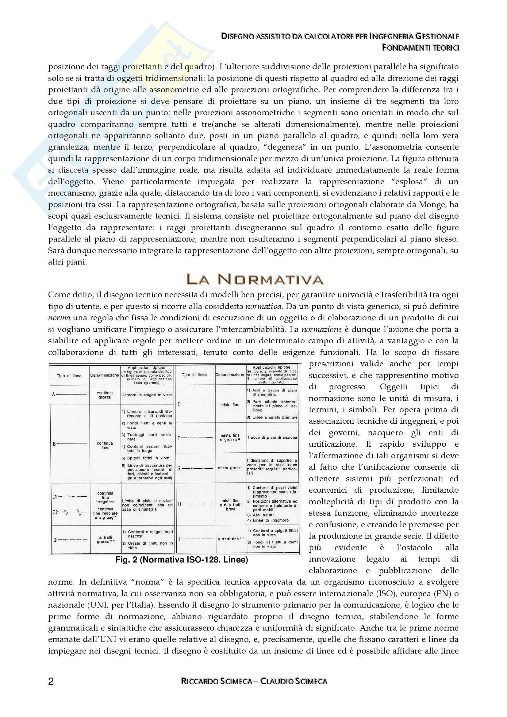 Disegno assistito da calcolatore - Appunti Pag. 2