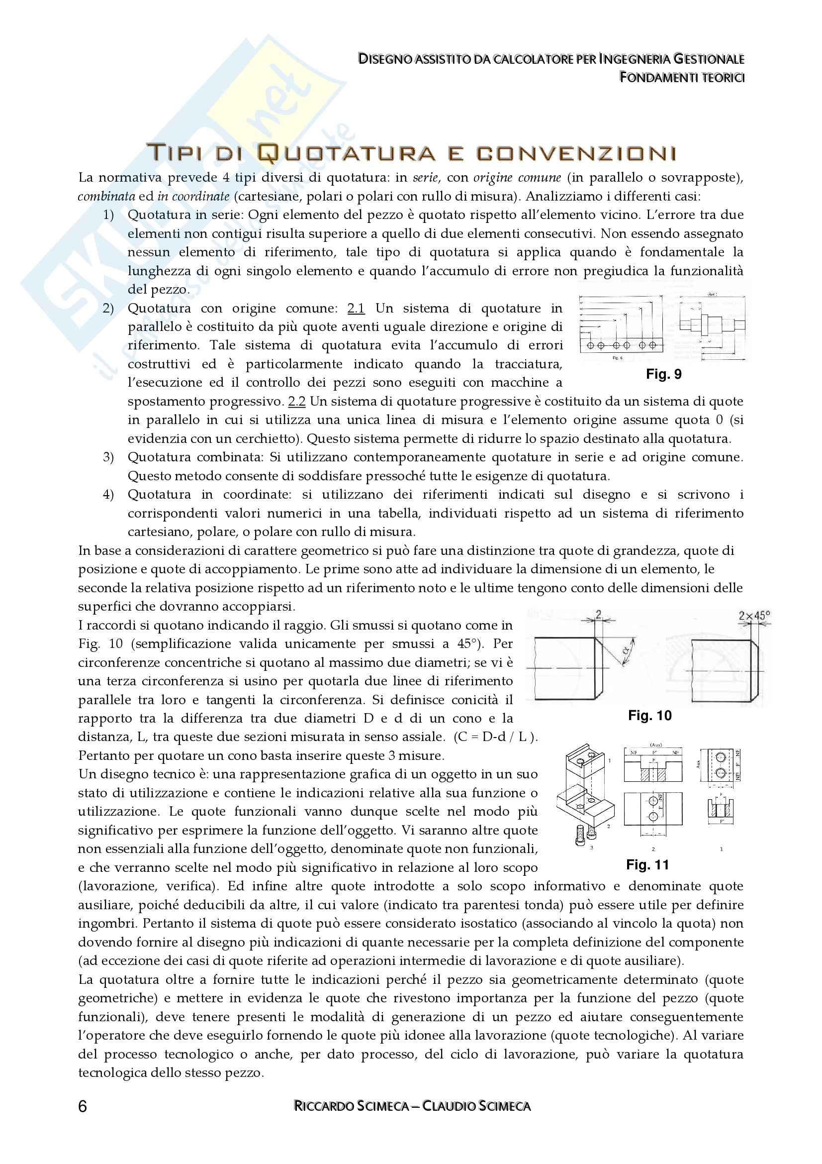 Disegno assistito da calcolatore - Appunti Pag. 6