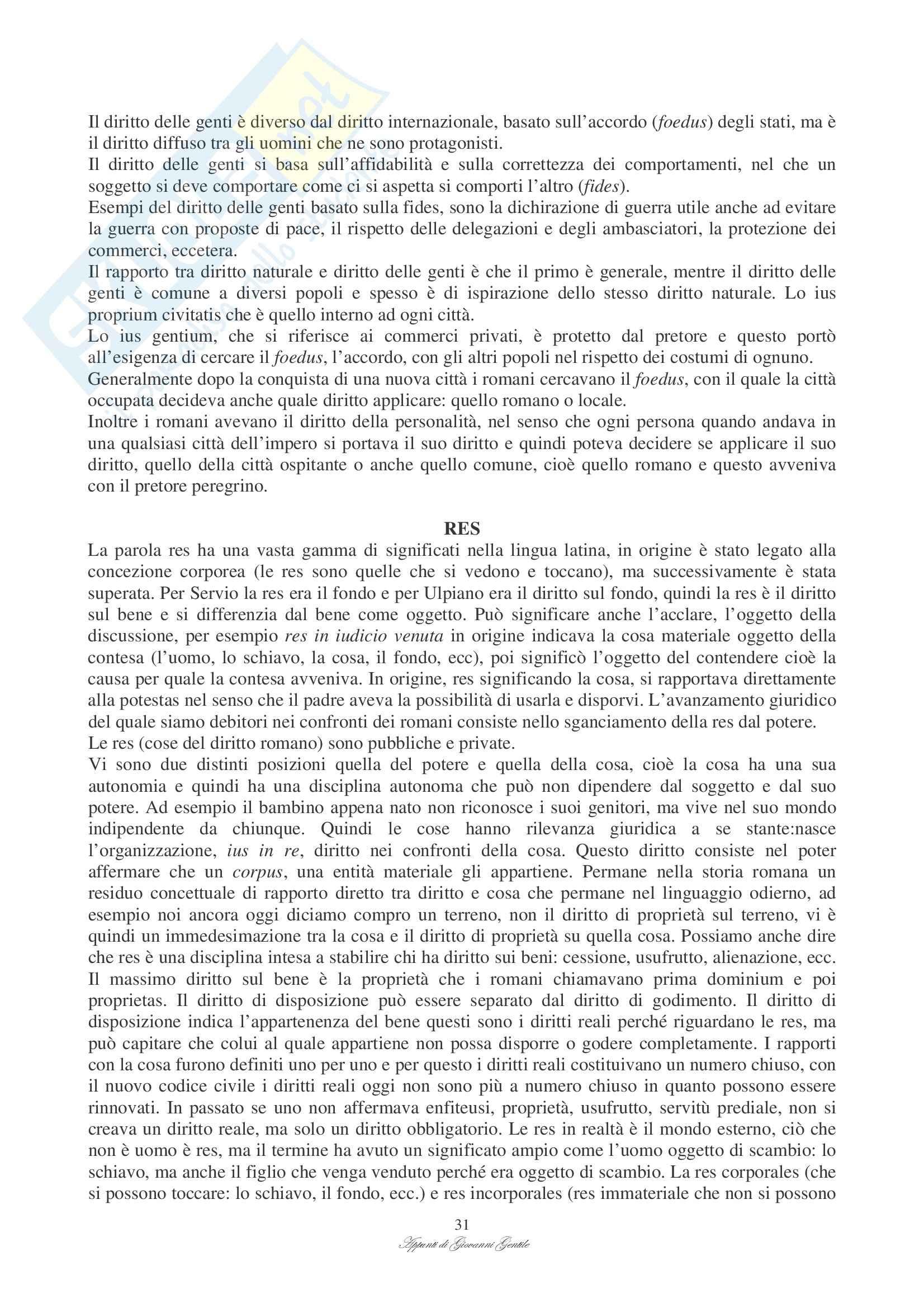 Istituzioni di diritto romano - Appunti Pag. 31
