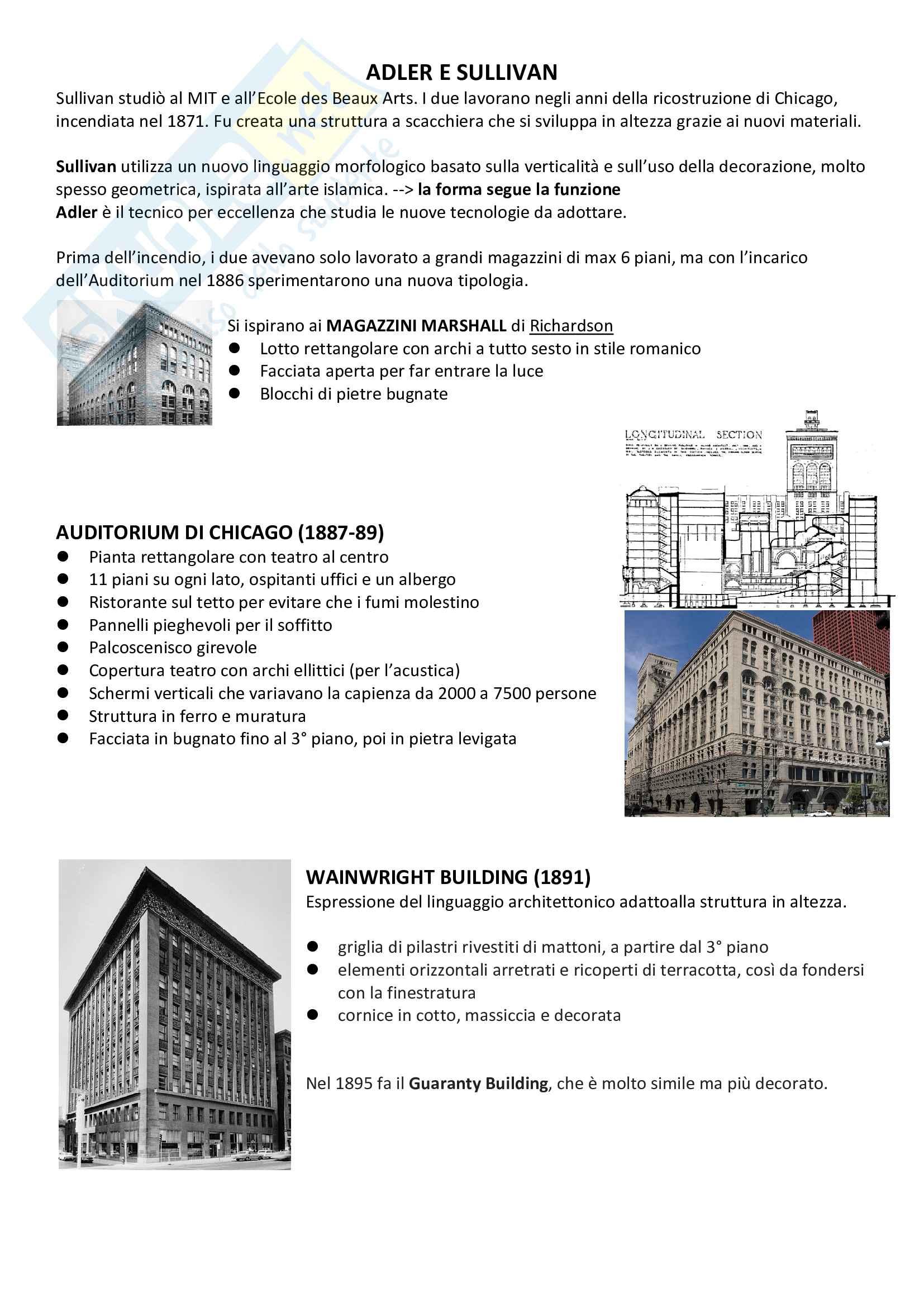 Storia dell'Architettura Contemporanea e dell'Arte Pag. 11