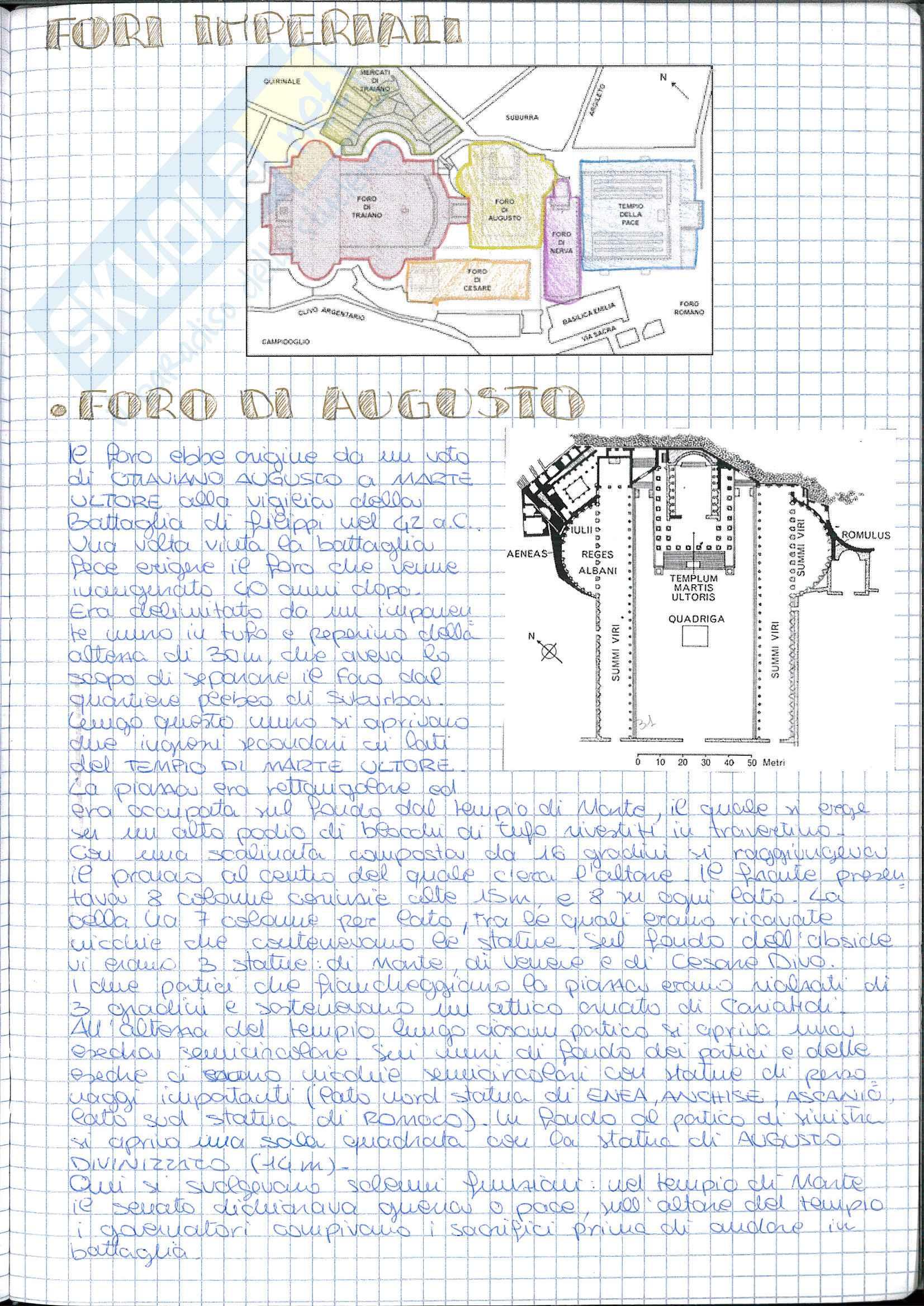 Riassunto esame Storia dell' Architettura ed Estetica, prof. Lerza, libro consigliato Architettura romana, Perkins Pag. 11