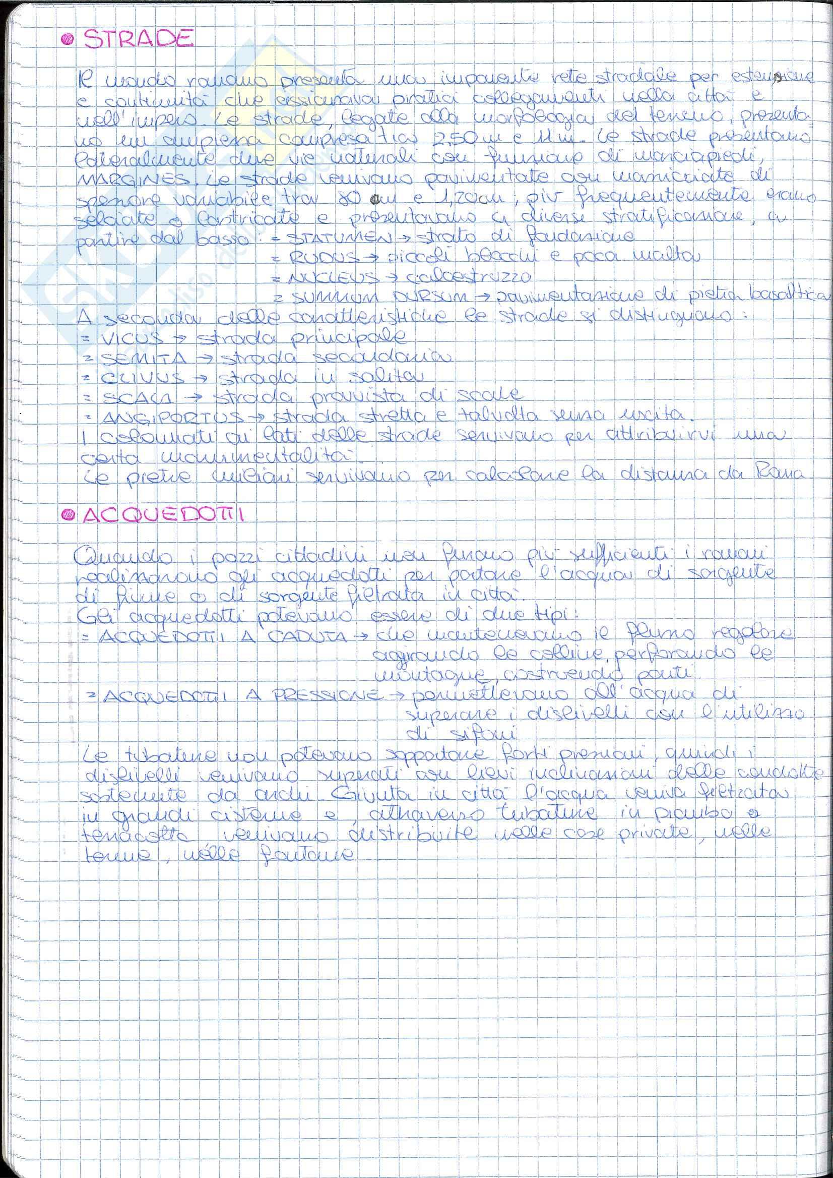 Riassunto esame Storia dell' Architettura ed Estetica, prof. Lerza, libro consigliato Architettura romana, Perkins Pag. 2