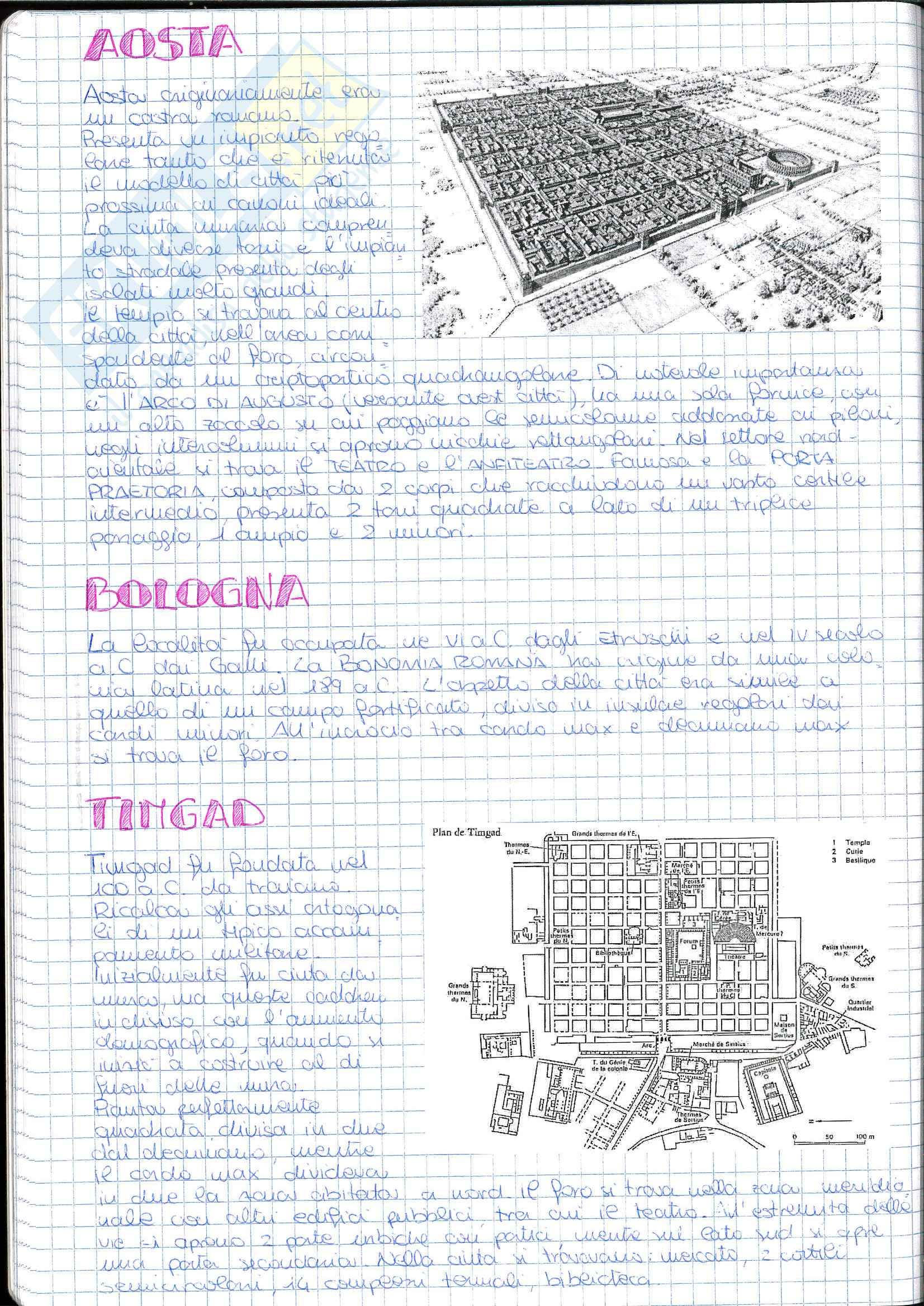 Riassunto esame Storia dell' Architettura ed Estetica, prof. Lerza, libro consigliato Architettura romana, Perkins Pag. 6