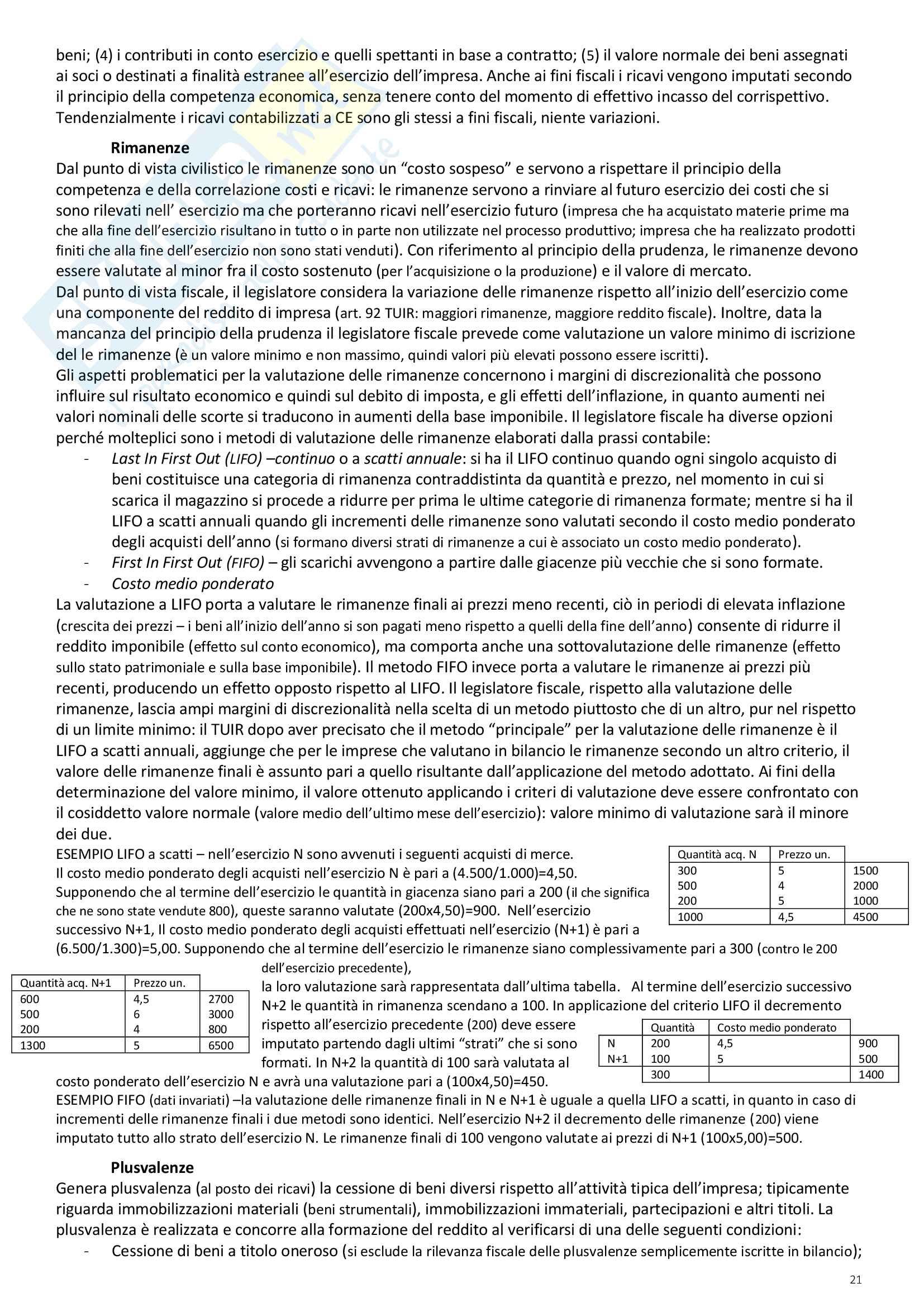 """Riassunto esame Scienze delle Finanze, prof. Ambrosanio, libro consigliato """"Elementi di Scienza delle finanze"""" di Artoni Pag. 21"""