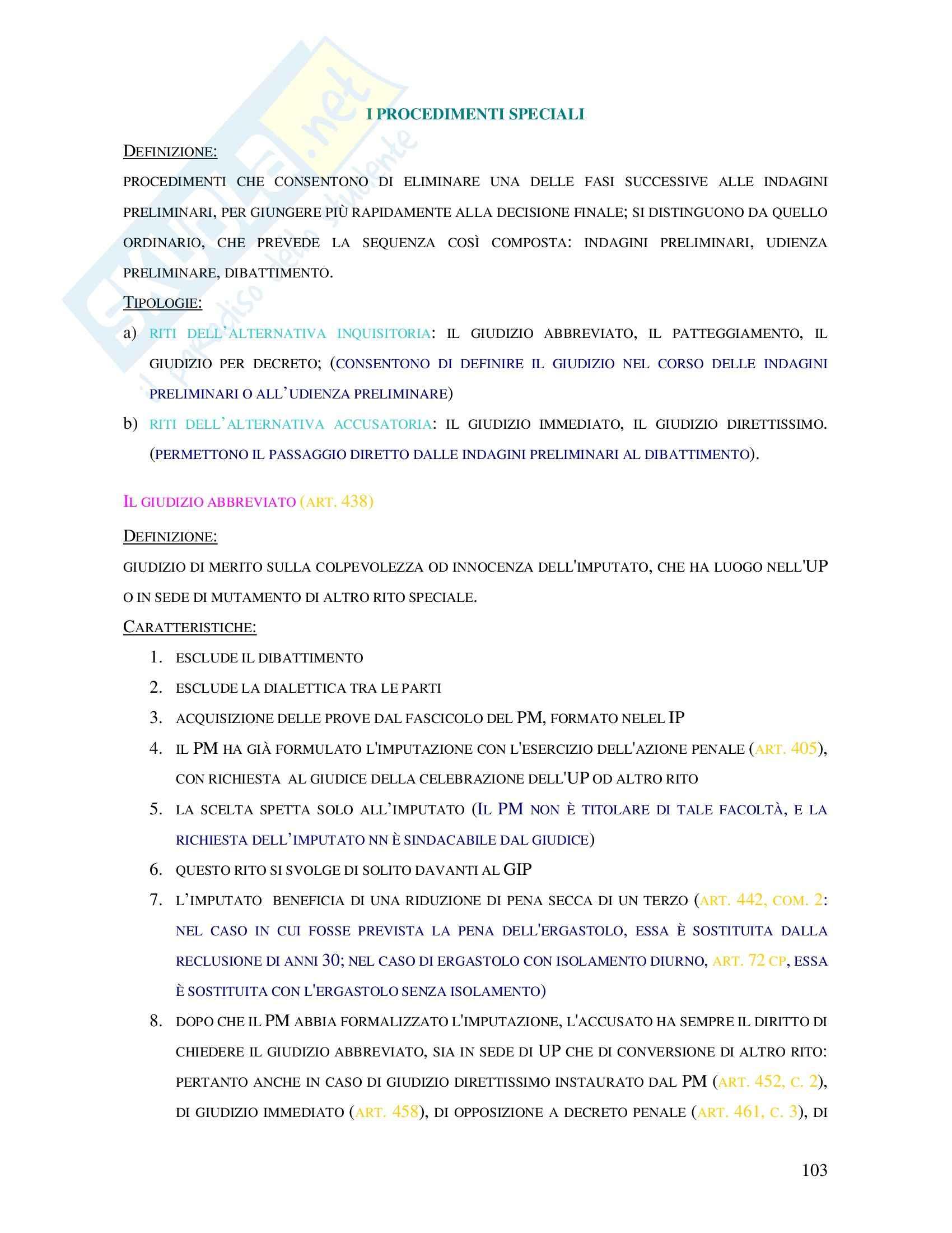appunto R. Orlandi Procedura penale
