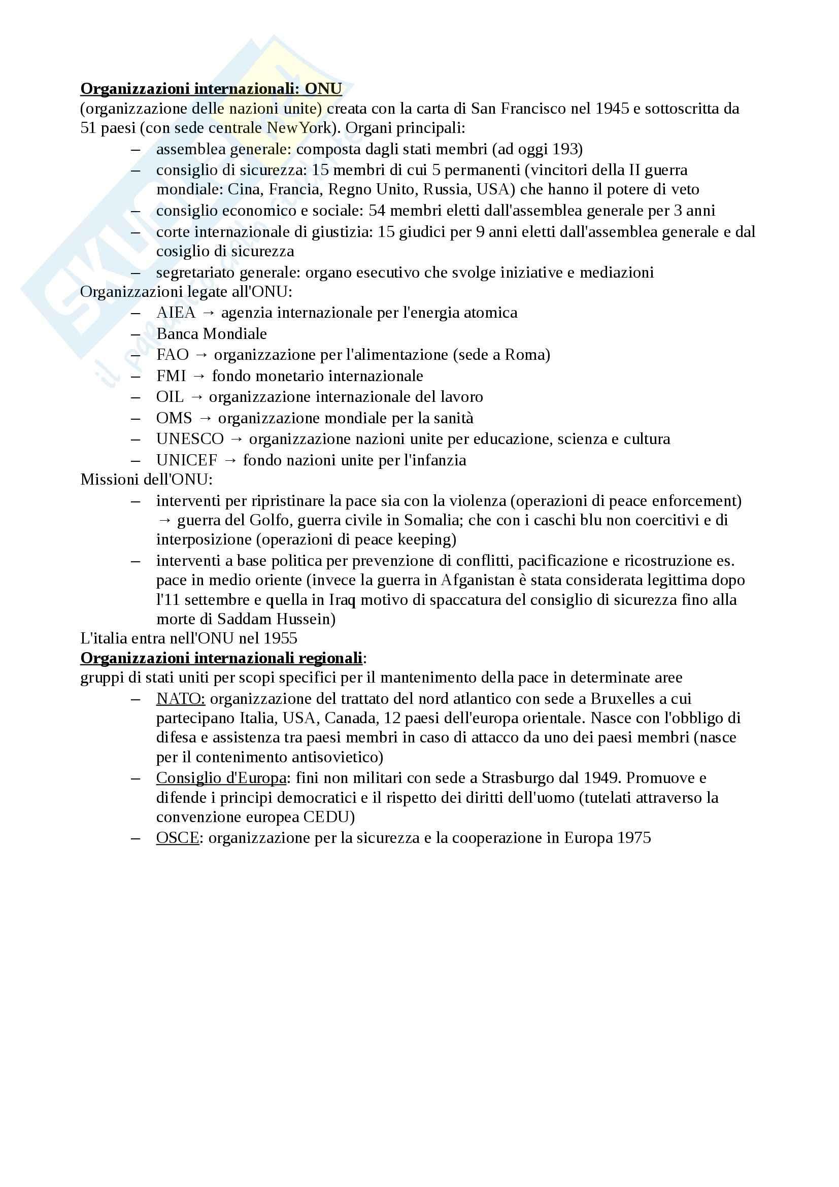 Riassunto esame Diritto pubblico, prof. Longo, libro consigliato Corso di diritto pubblico di Barbera, Fusaro Pag. 6