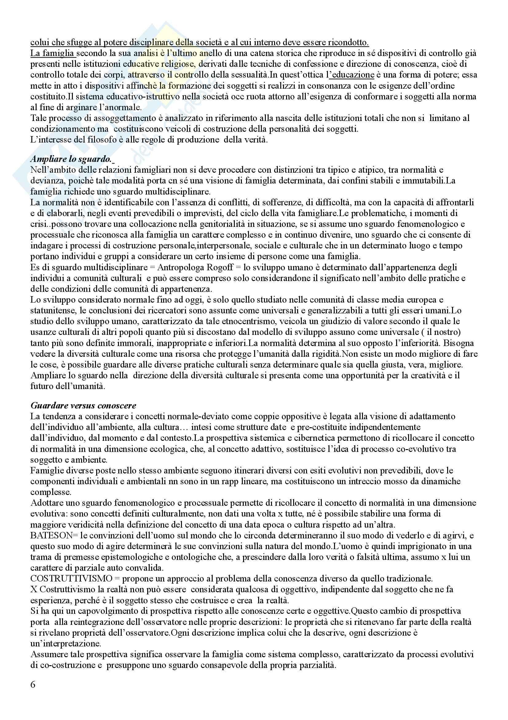 Pedagogia della famiglia - Appunti Pag. 6