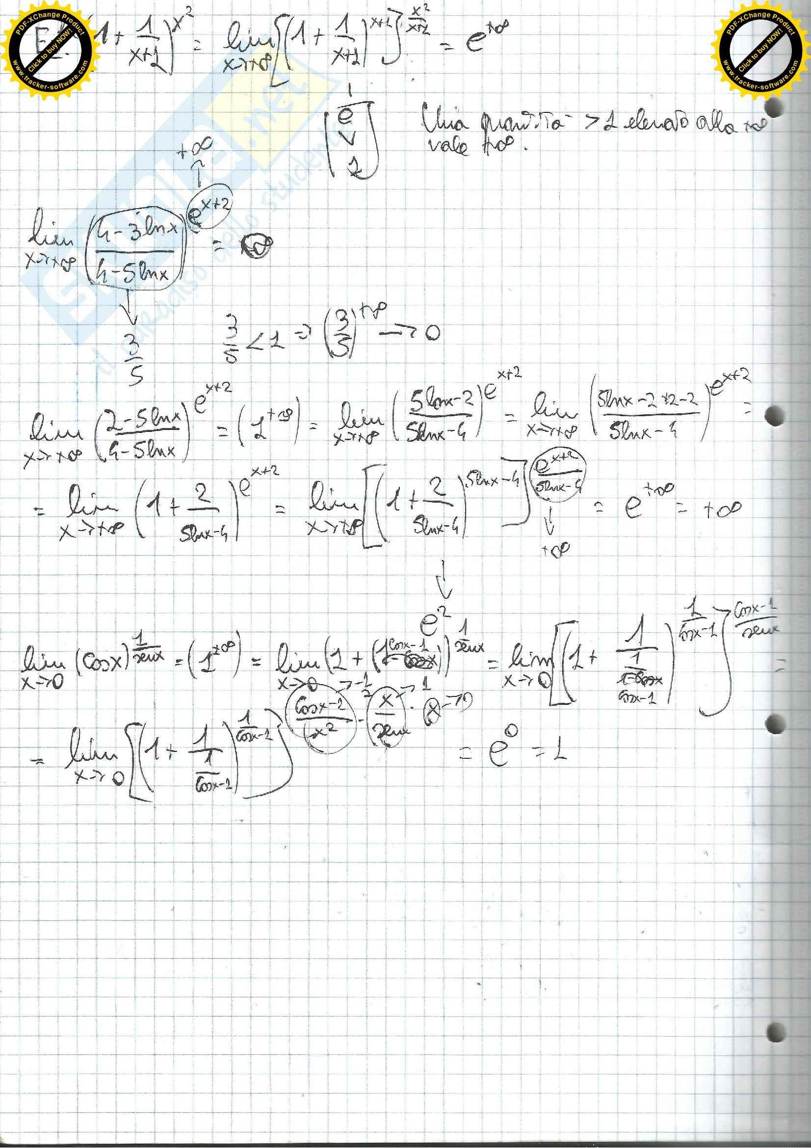 Lezioni, Analisi matematica I Pag. 31