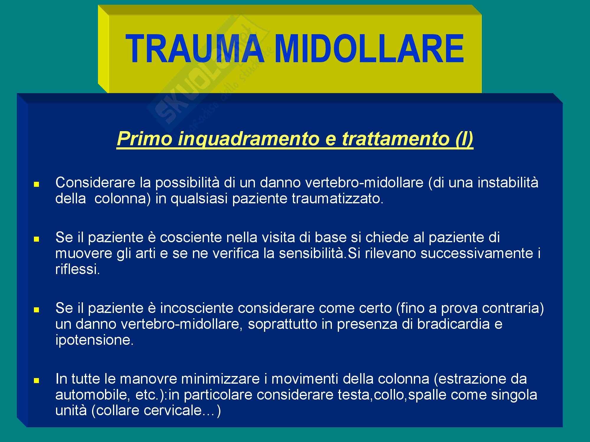 Trauma Midollare Rottura Aorta, Trauma toracico