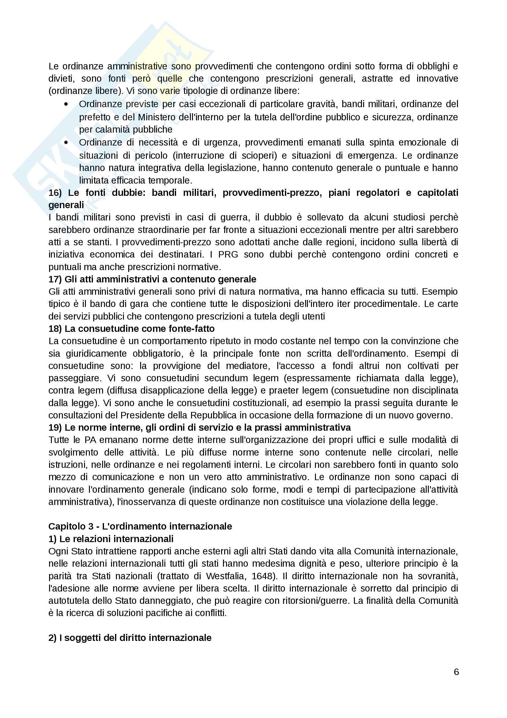 Riassunto esame Diritto amministrativo, Prof. Giuffrida, Libro consigliato Lineamenti di diritto amministrativo, Crosetti, Giuffrida Pag. 6