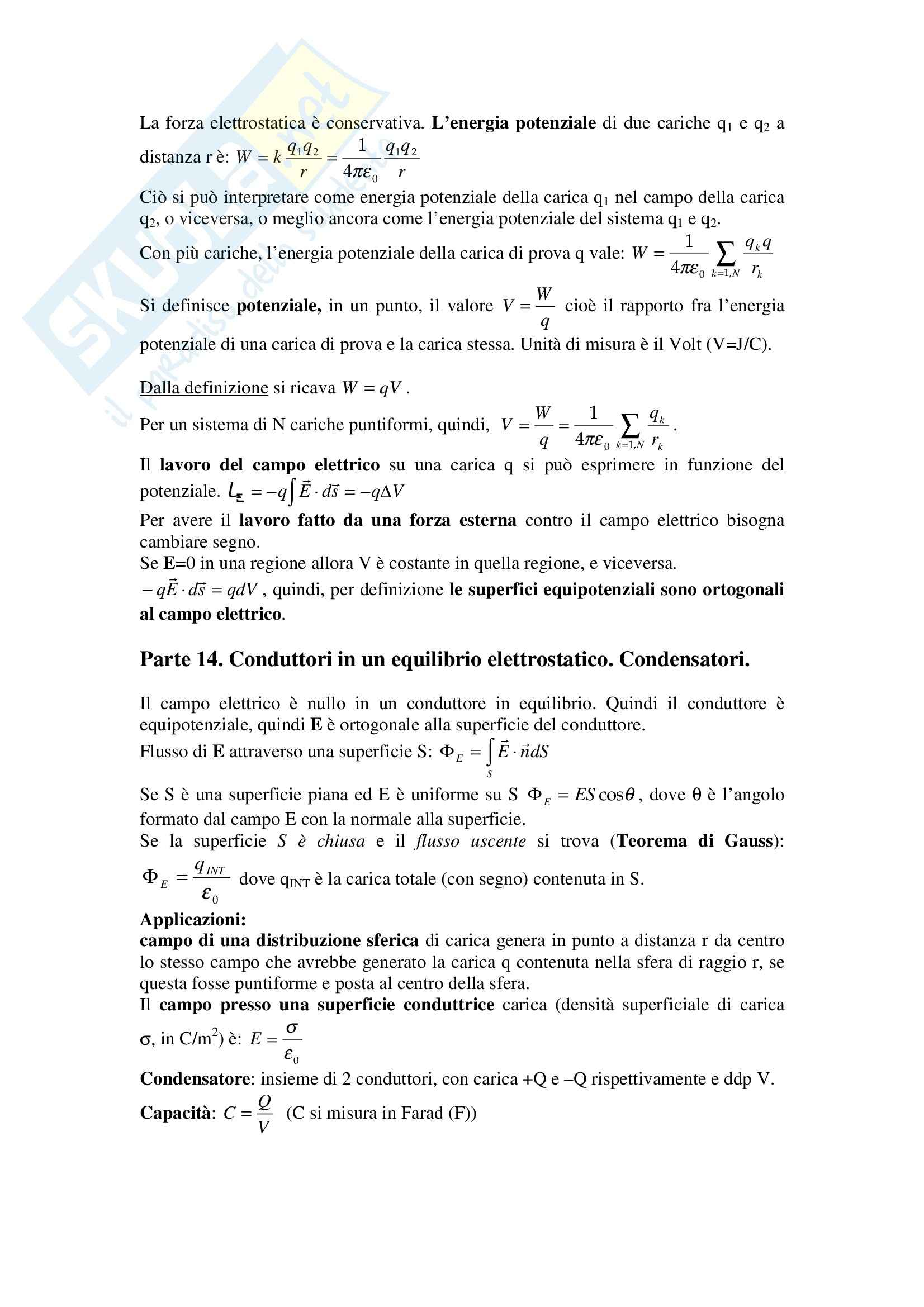 Fisica statistica ed informatica – Formulario Pag. 11