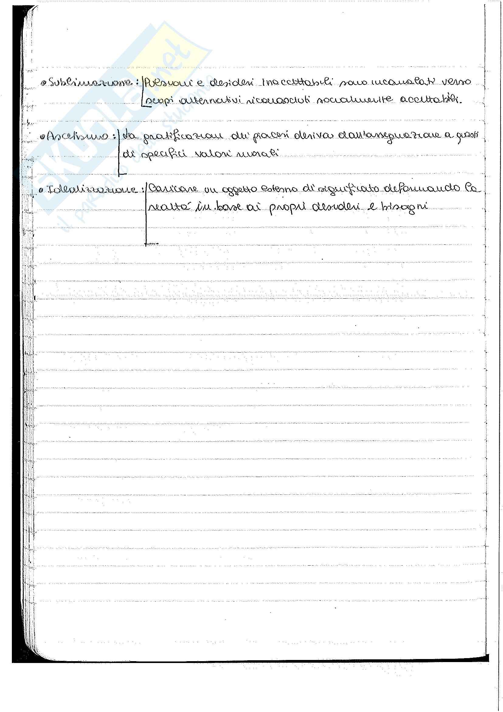 Psicologia generale - Appunti Pag. 46