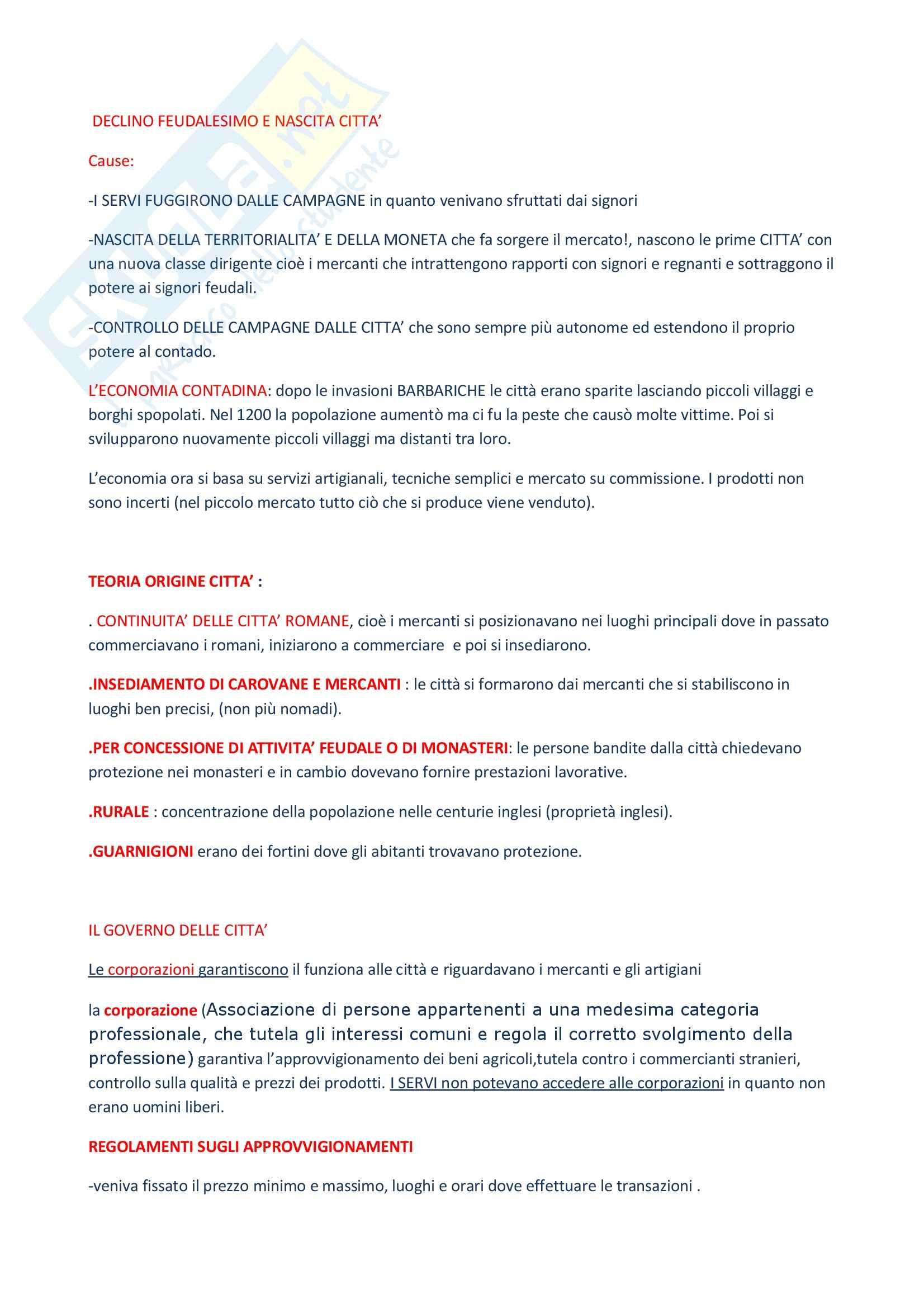 Storia economica - Appunti Pag. 6