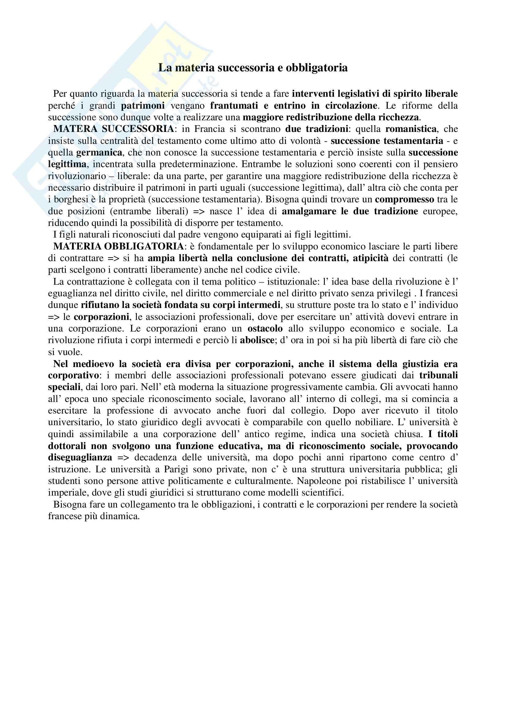 Storia del diritto medievale e moderno - Appunti Pag. 11